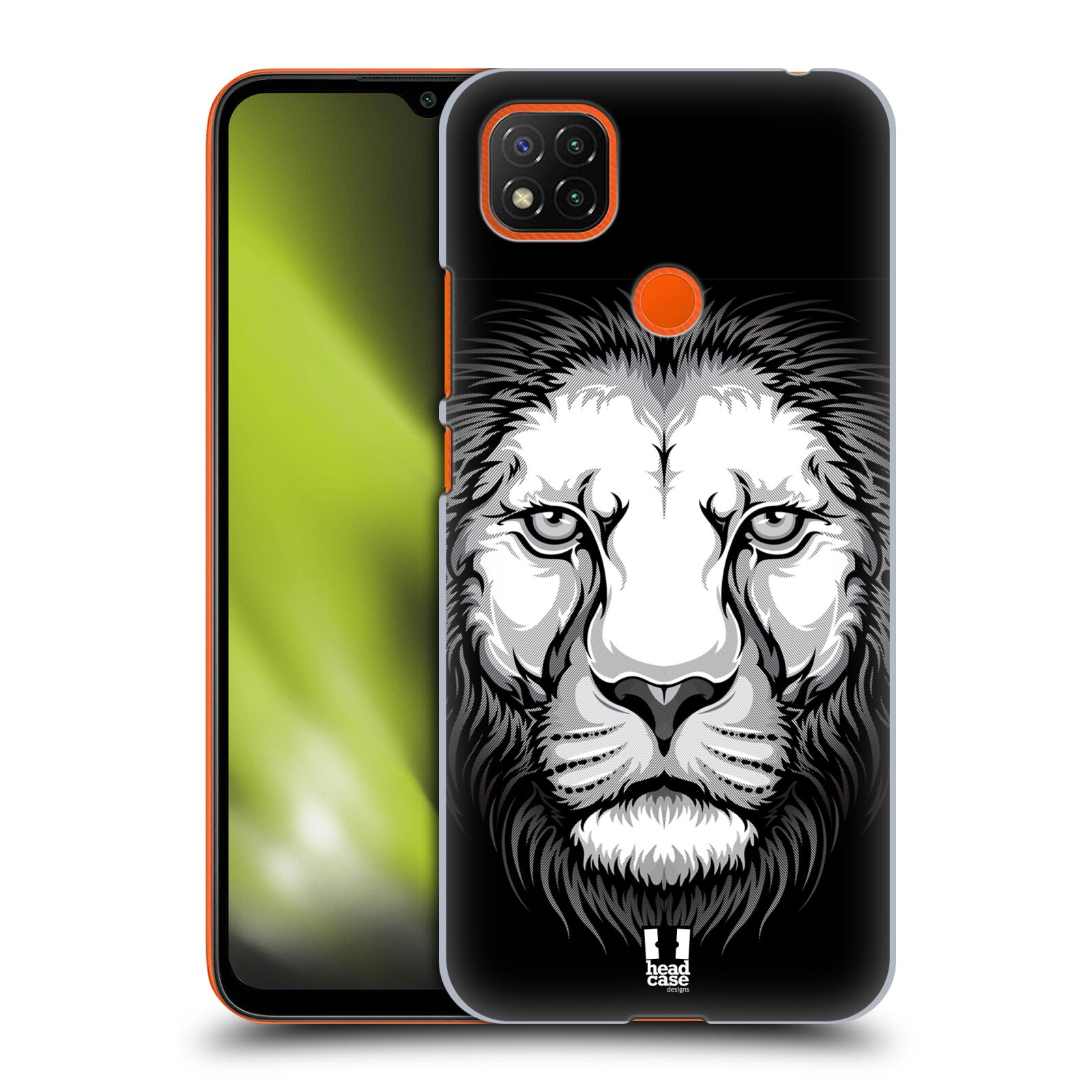 Plastové pouzdro na mobil Xiaomi Redmi 9C - Head Case - ILUSTROVANÝ LEV