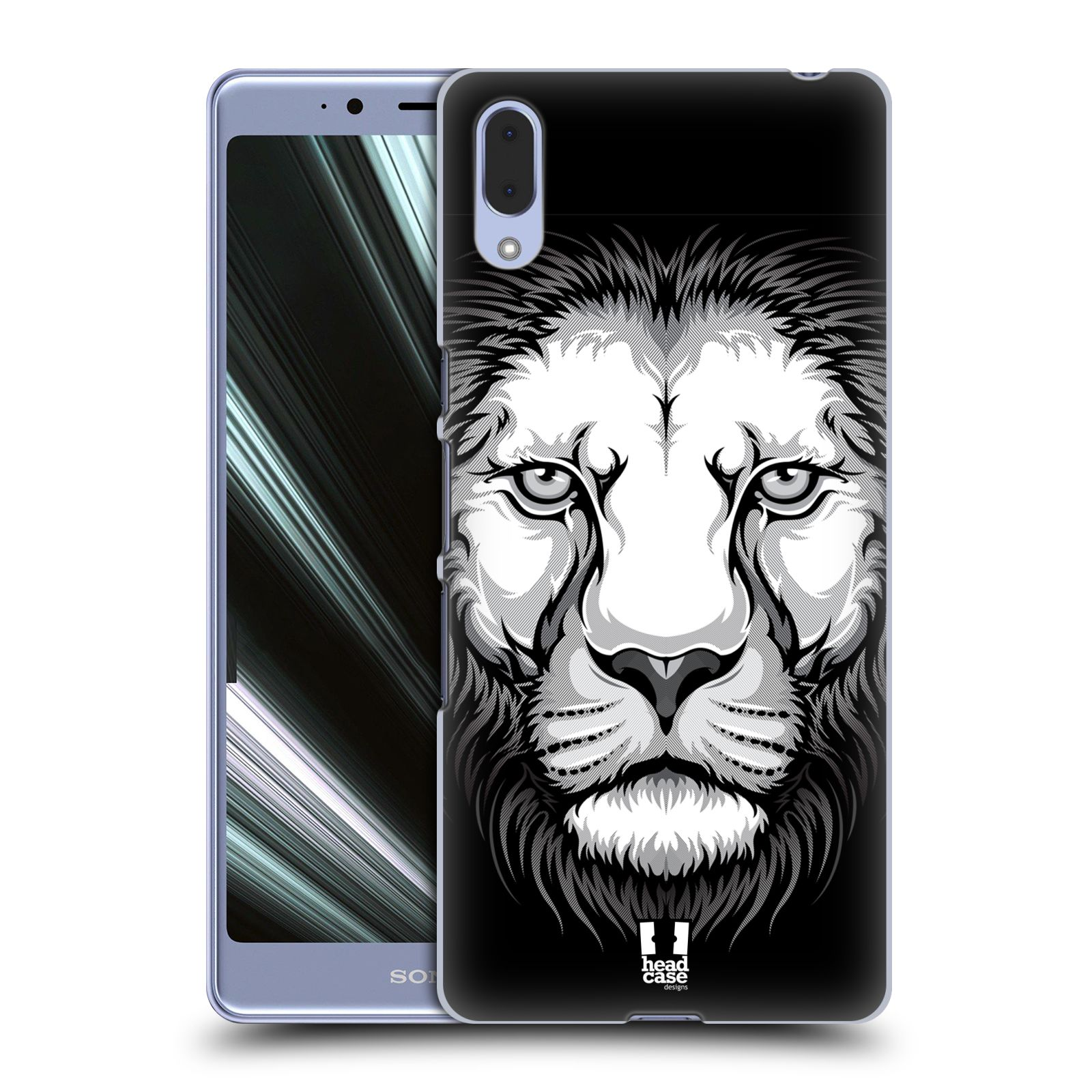 Plastové pouzdro na mobil Sony Xperia L3 - Head Case - ILUSTROVANÝ LEV