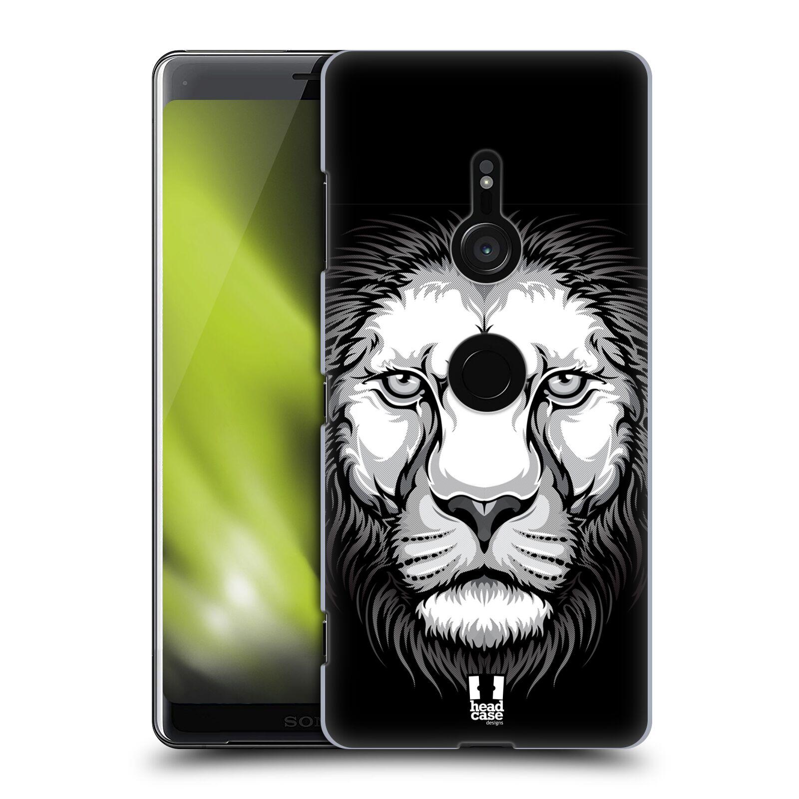 Plastové pouzdro na mobil Sony Xperia XZ3 - Head Case - ILUSTROVANÝ LEV