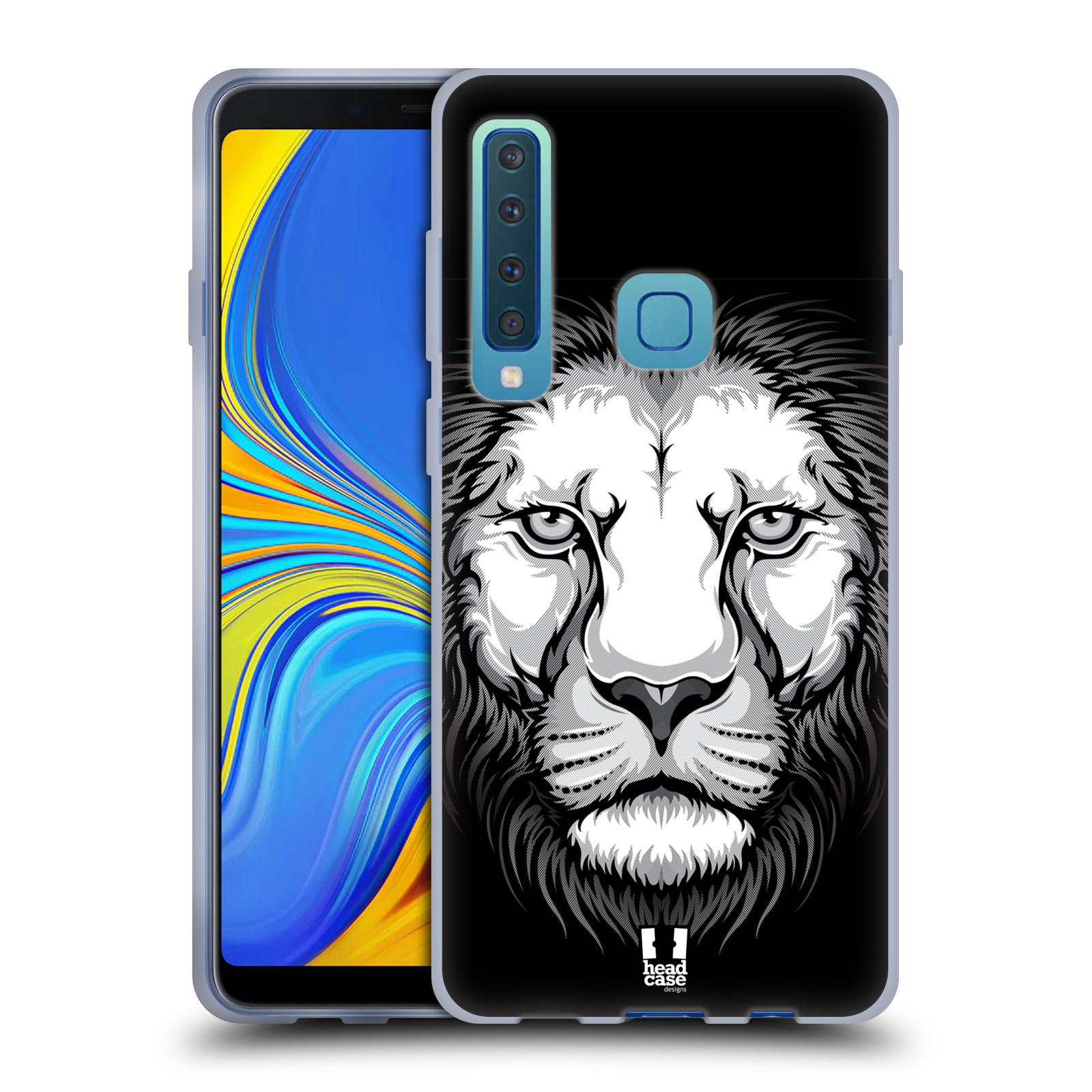 Silikonové pouzdro na mobil Samsung Galaxy A9 (2018) - Head Case - ILUSTROVANÝ LEV