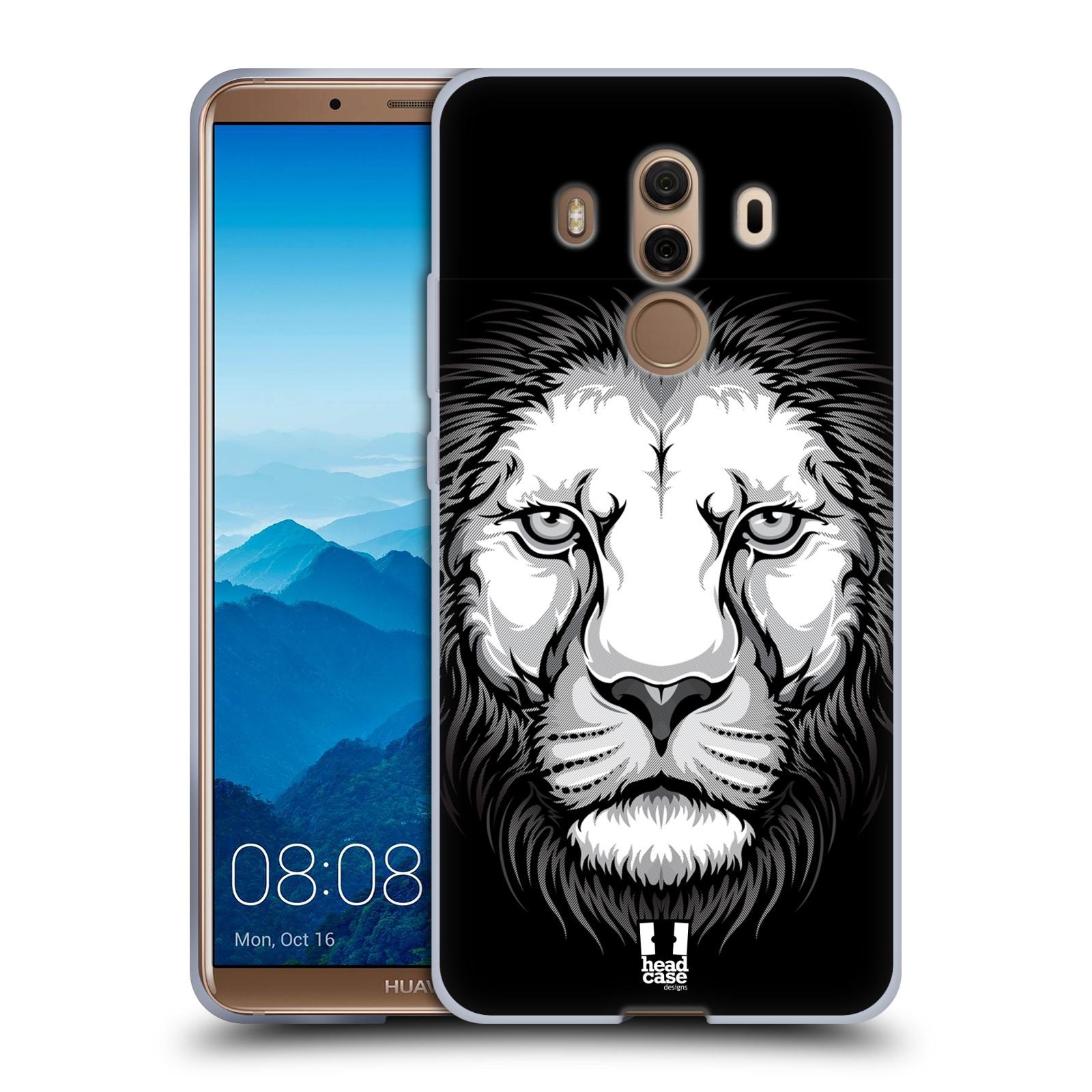 Silikonové pouzdro na mobil Huawei Mate 10 Pro - Head Case - ILUSTROVANÝ LEV