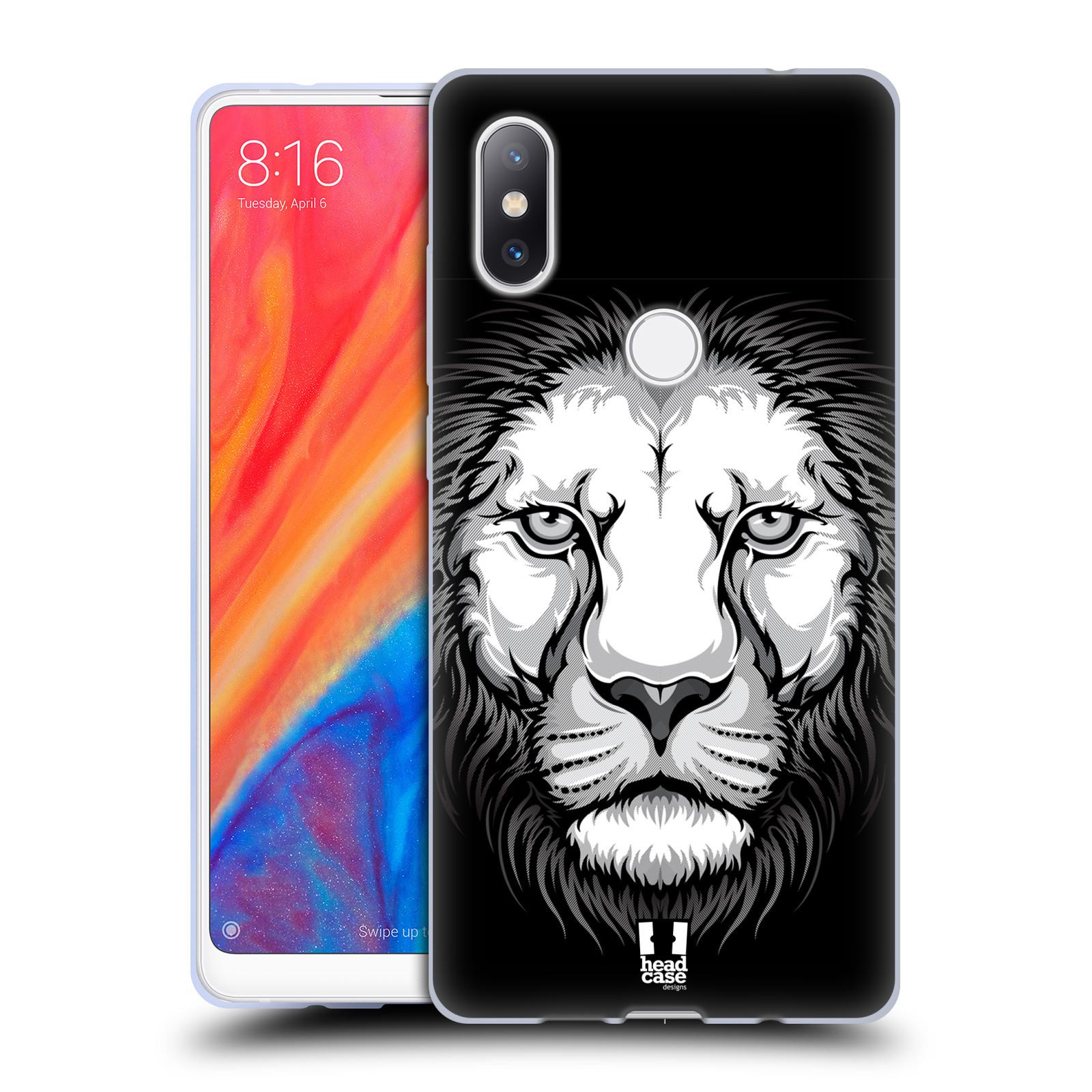 Silikonové pouzdro na mobil Xiaomi Mi Mix 2S - Head Case - ILUSTROVANÝ LEV