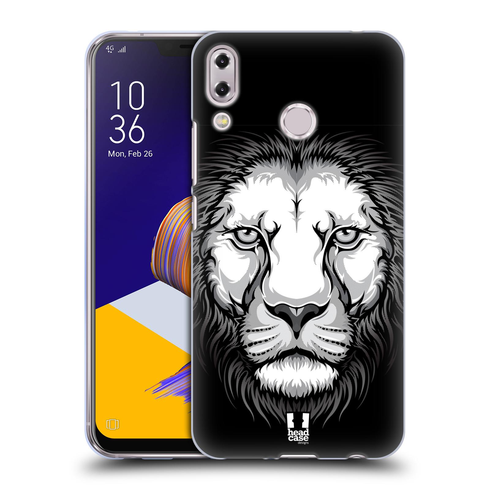 Silikonové pouzdro na mobil Asus Zenfone 5z ZS620KL - Head Case - ILUSTROVANÝ LEV