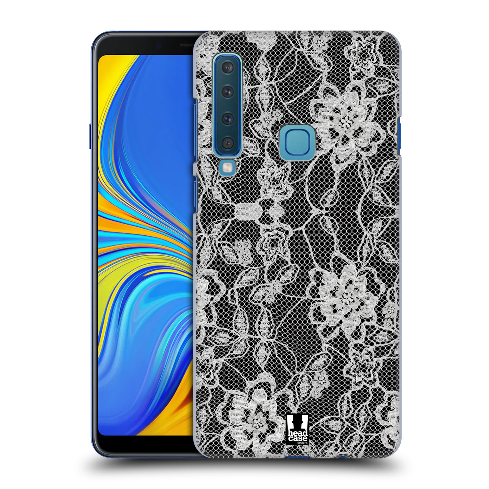 Plastové pouzdro na mobil Samsung Galaxy A9 (2018) - Head Case - FLOWERY KRAJKA