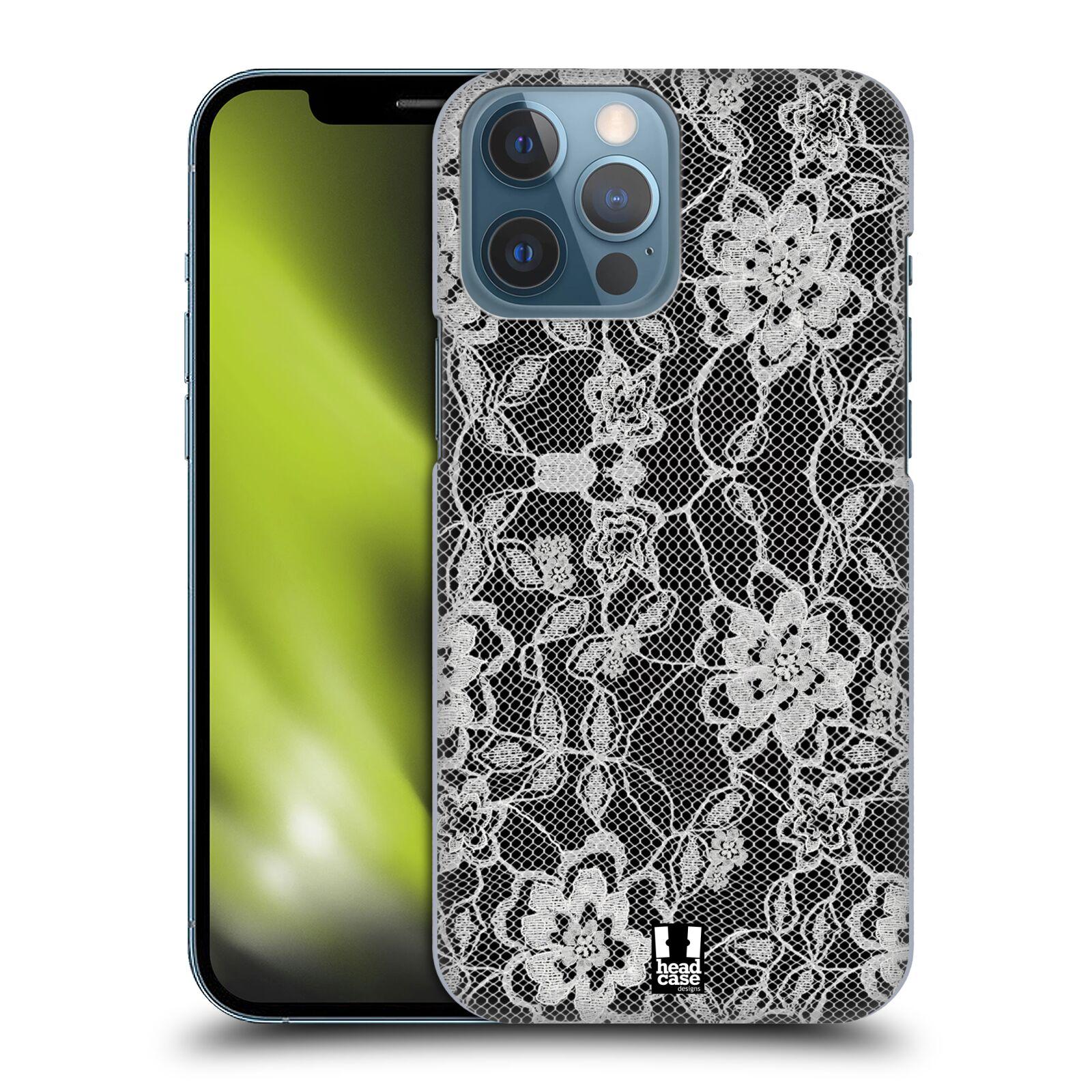 Plastové pouzdro na mobil Apple iPhone 13 Pro Max - Head Case - FLOWERY KRAJKA