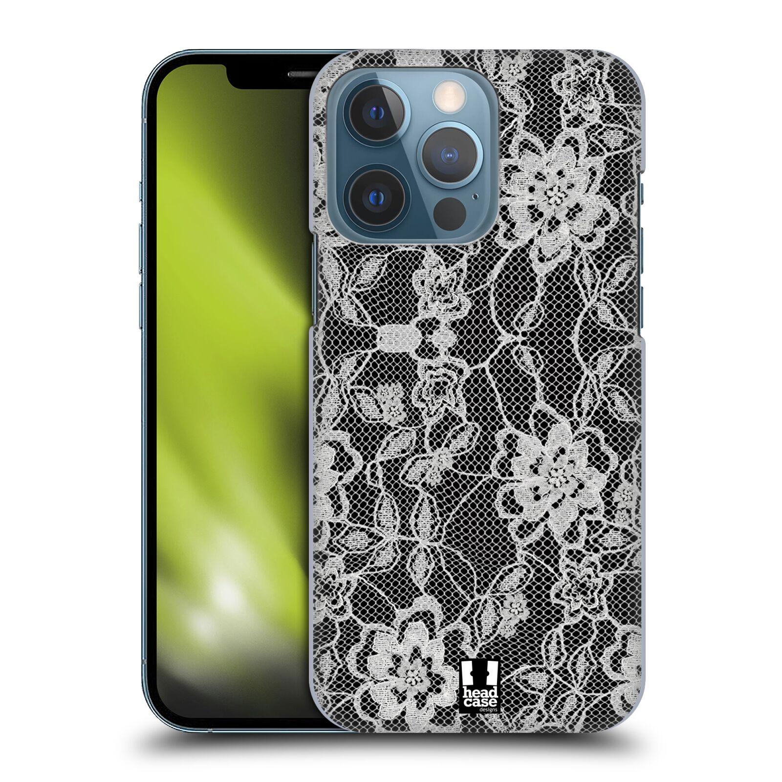 Plastové pouzdro na mobil Apple iPhone 13 Pro - Head Case - FLOWERY KRAJKA