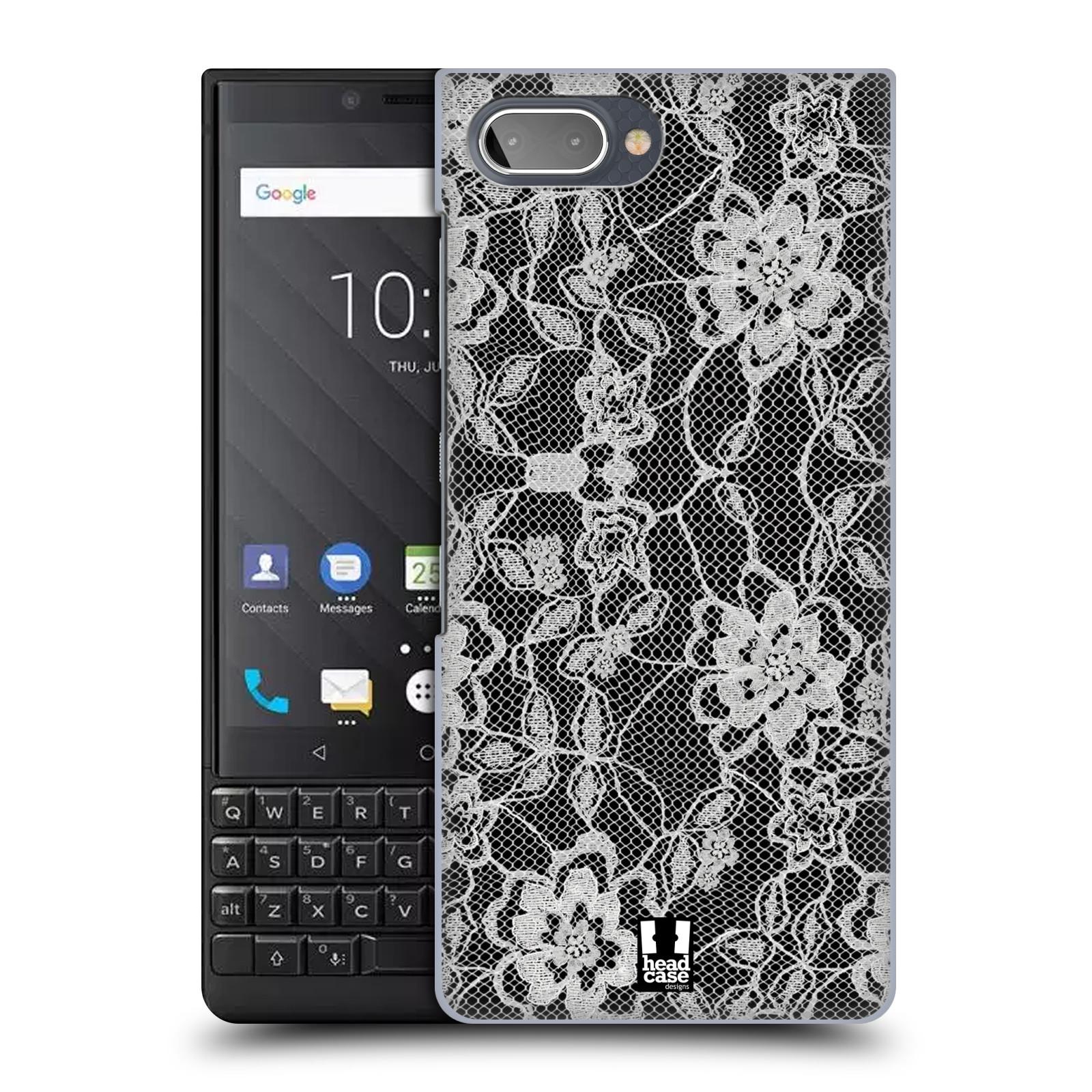 Plastové pouzdro na mobil Blackberry Key 2 - Head Case - FLOWERY KRAJKA