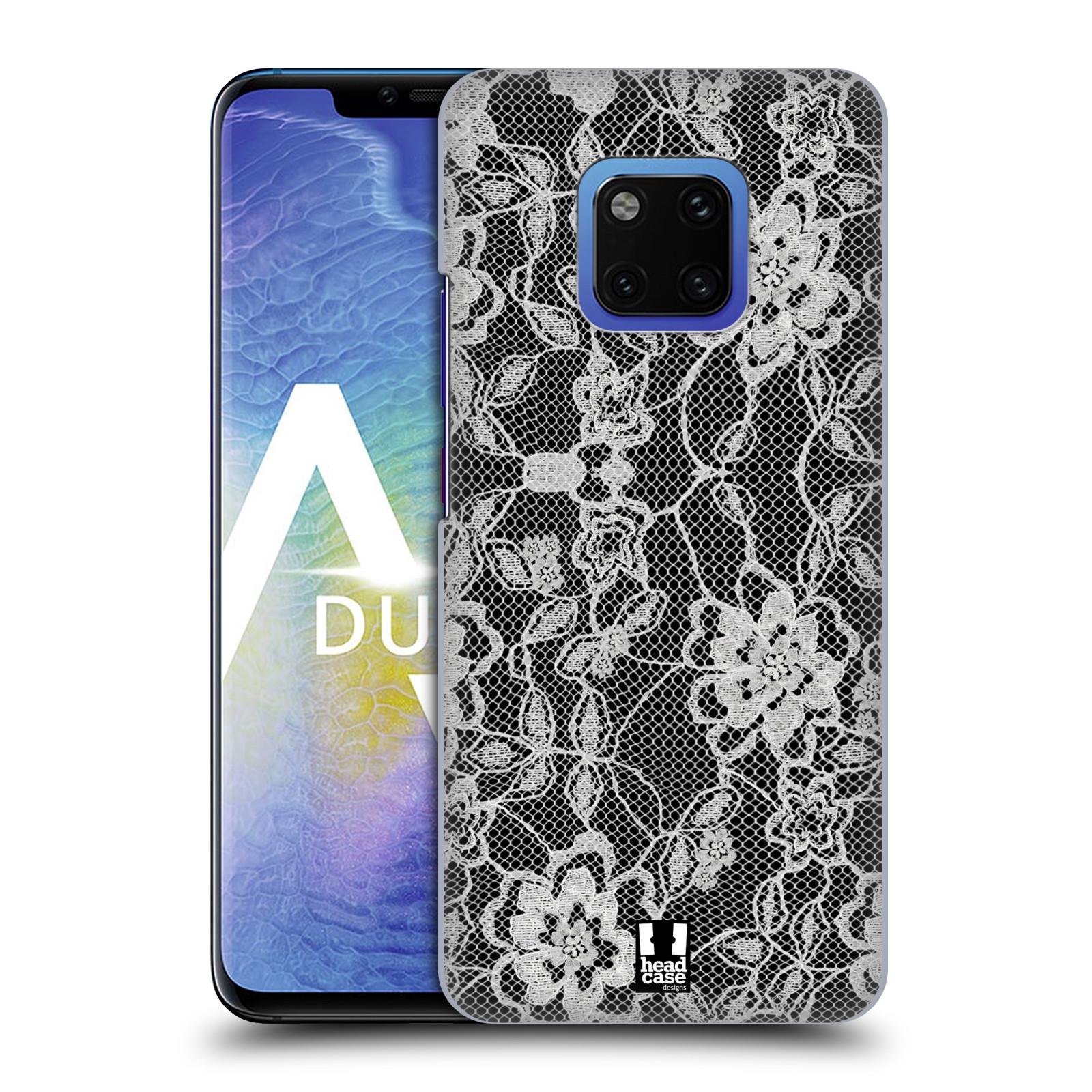 Plastové pouzdro na mobil Huawei Mate 20 Pro - Head Case - FLOWERY KRAJKA