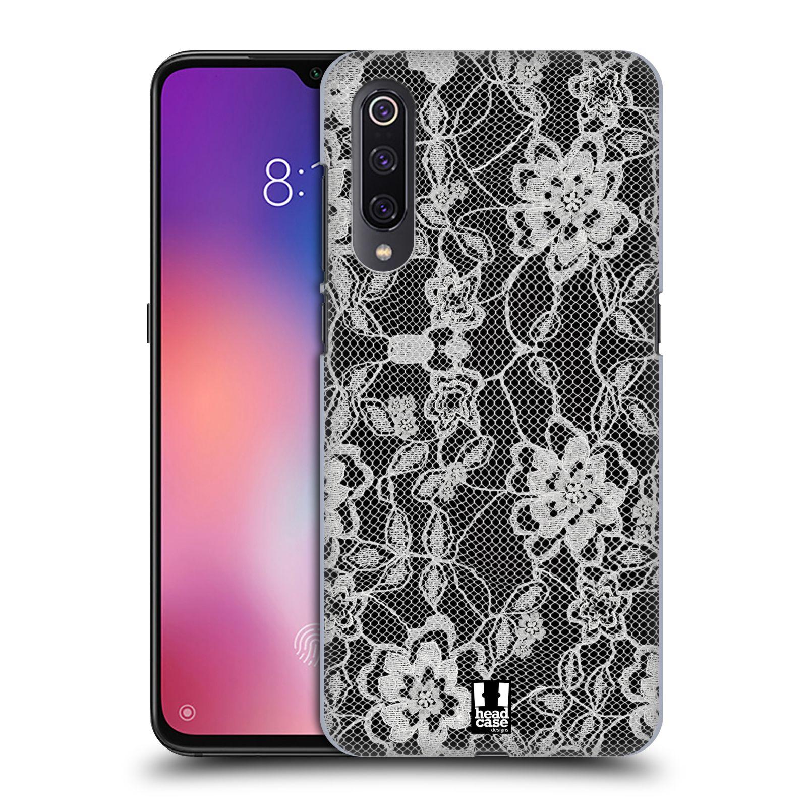 Plastové pouzdro na mobil Xiaomi Mi 9 - Head Case - FLOWERY KRAJKA