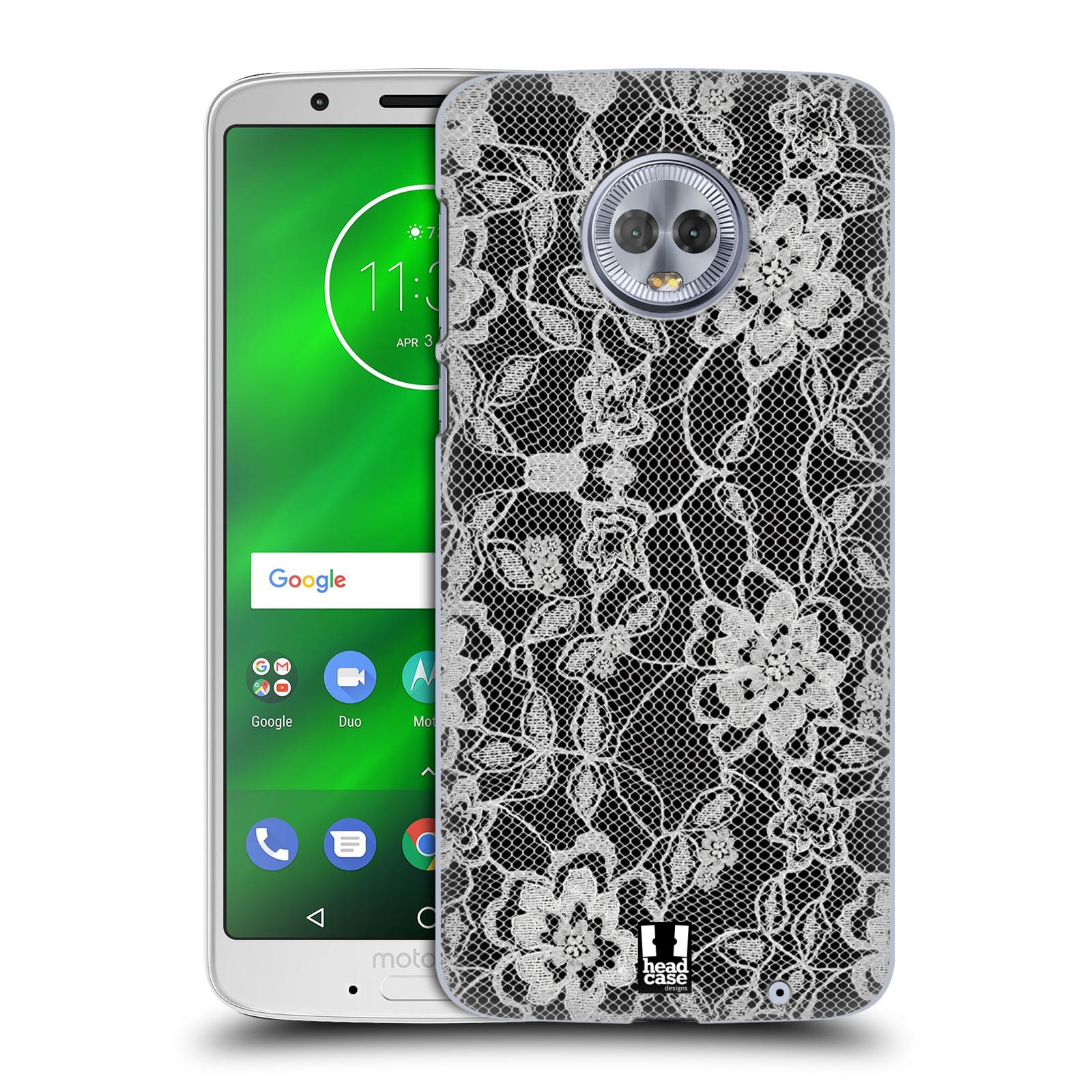 Plastové pouzdro na mobil Motorola Moto G6 Plus - Head Case - FLOWERY KRAJKA