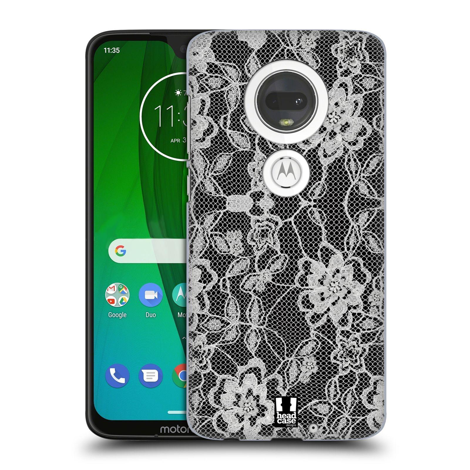Plastové pouzdro na mobil Motorola Moto G7 - Head Case - FLOWERY KRAJKA