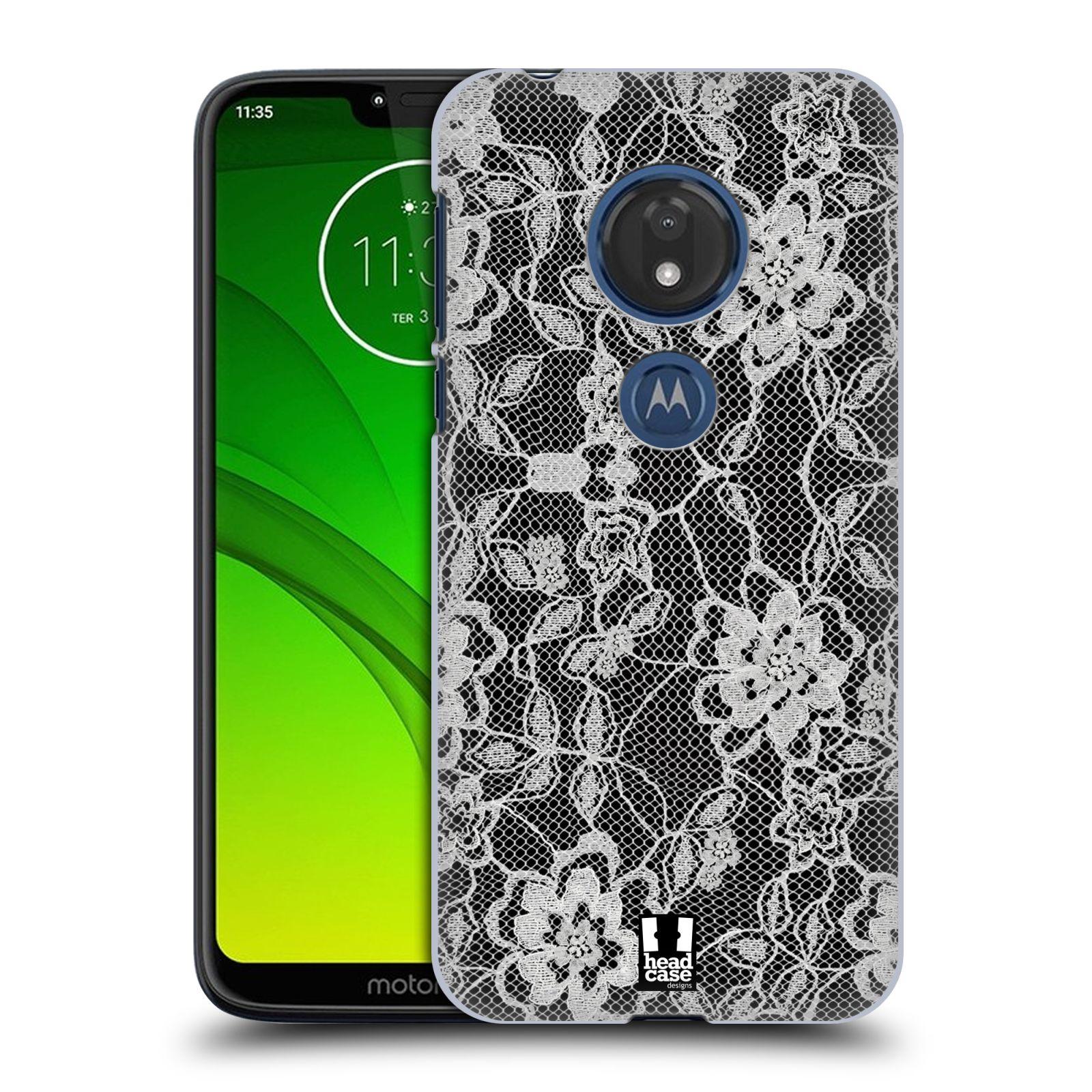 Plastové pouzdro na mobil Motorola Moto G7 Play - Head Case - FLOWERY KRAJKA