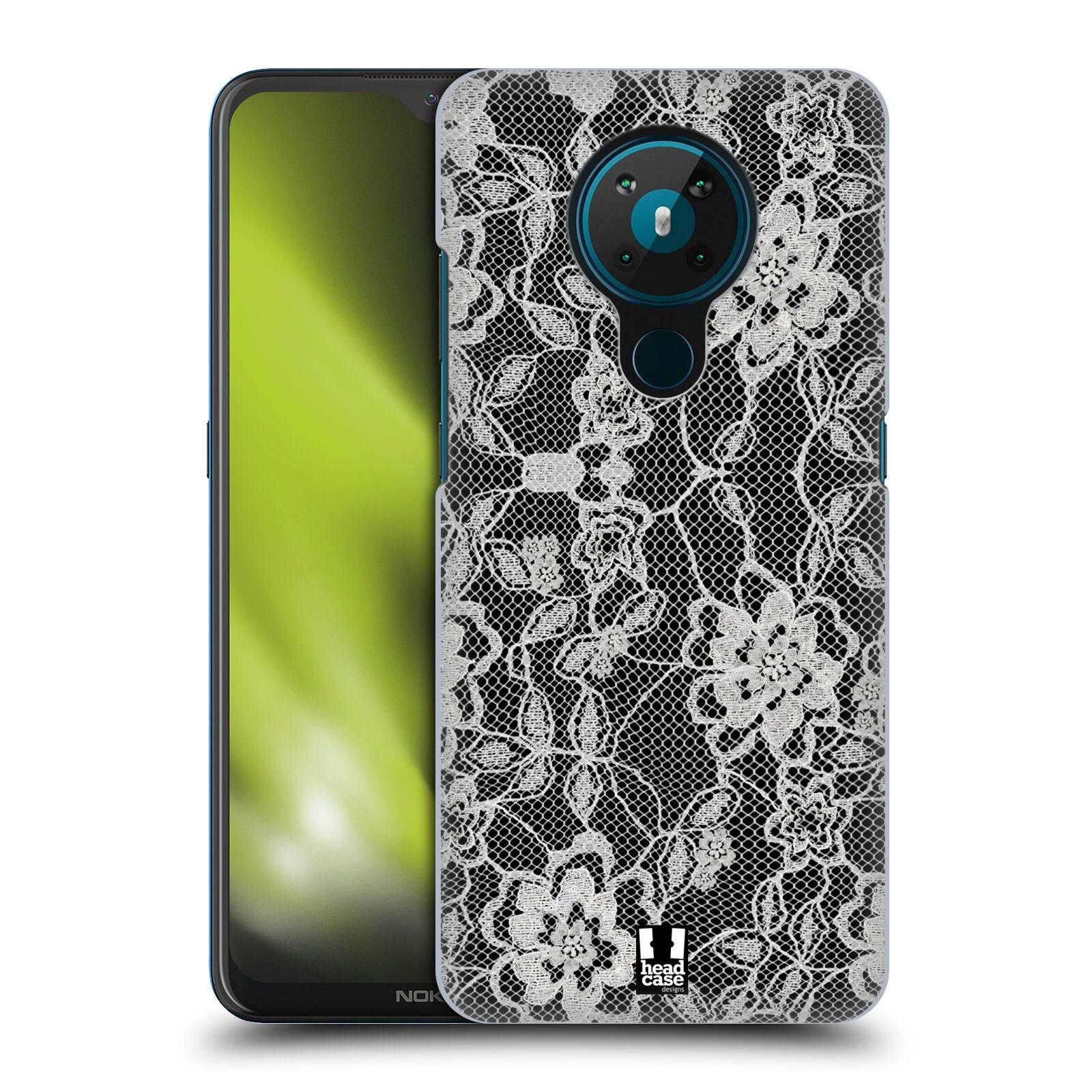 Plastové pouzdro na mobil Nokia 5.3 - Head Case - FLOWERY KRAJKA