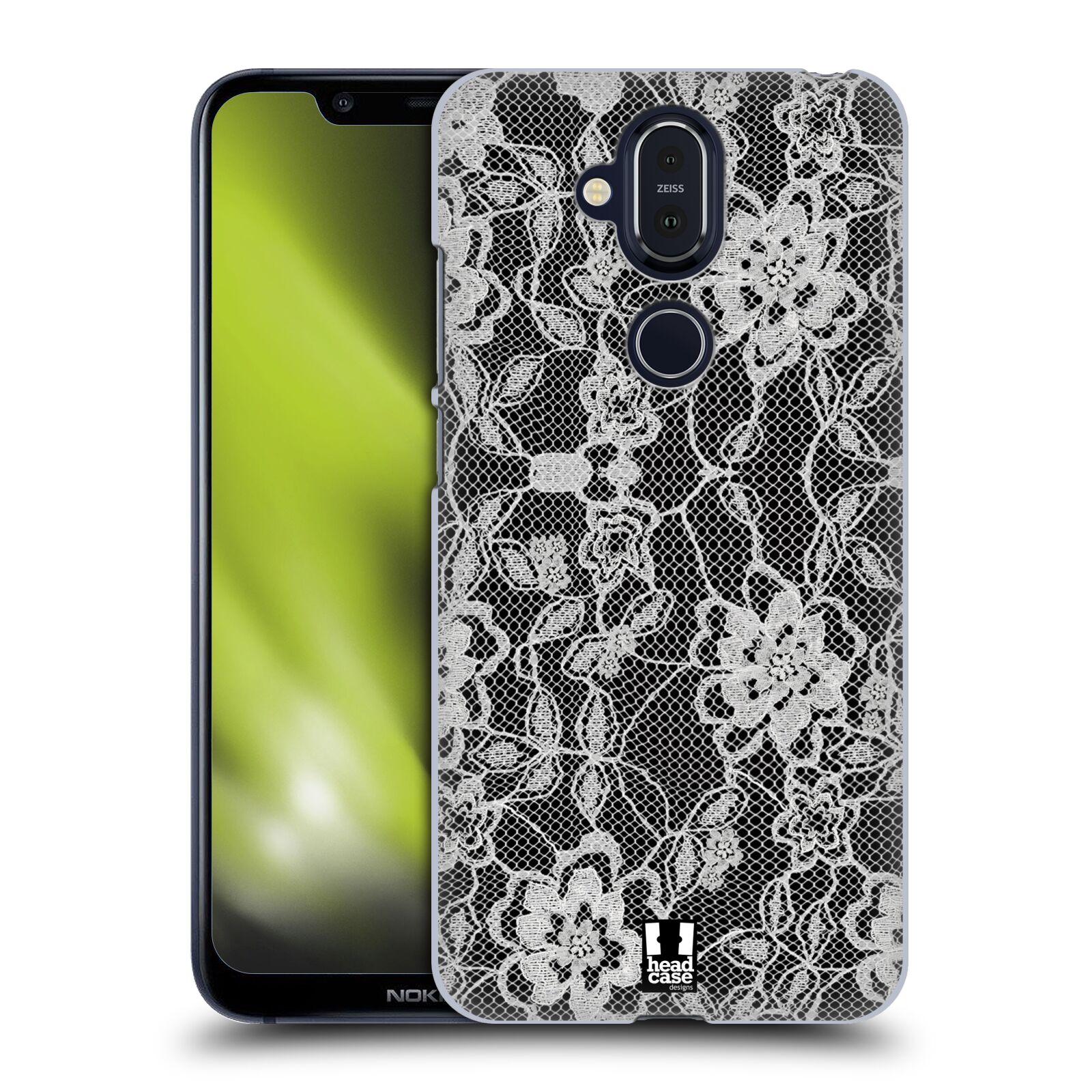 Plastové pouzdro na mobil Nokia 8.1 - Head Case - FLOWERY KRAJKA