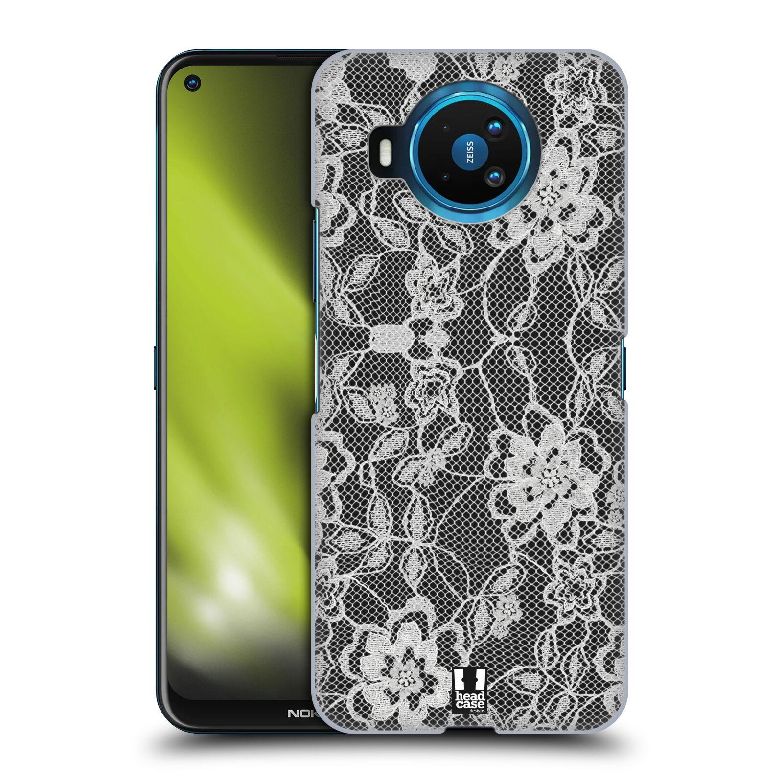Plastové pouzdro na mobil Nokia 8.3 5G - Head Case - FLOWERY KRAJKA