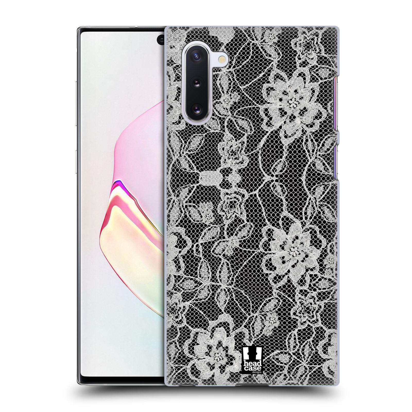 Plastové pouzdro na mobil Samsung Galaxy Note 10 - Head Case - FLOWERY KRAJKA