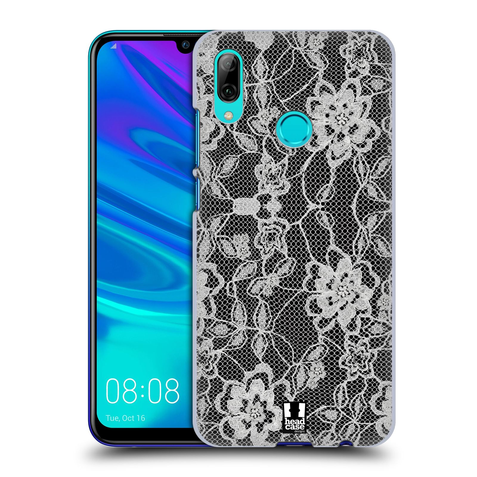 Plastové pouzdro na mobil Huawei P Smart (2019) - Head Case - FLOWERY KRAJKA