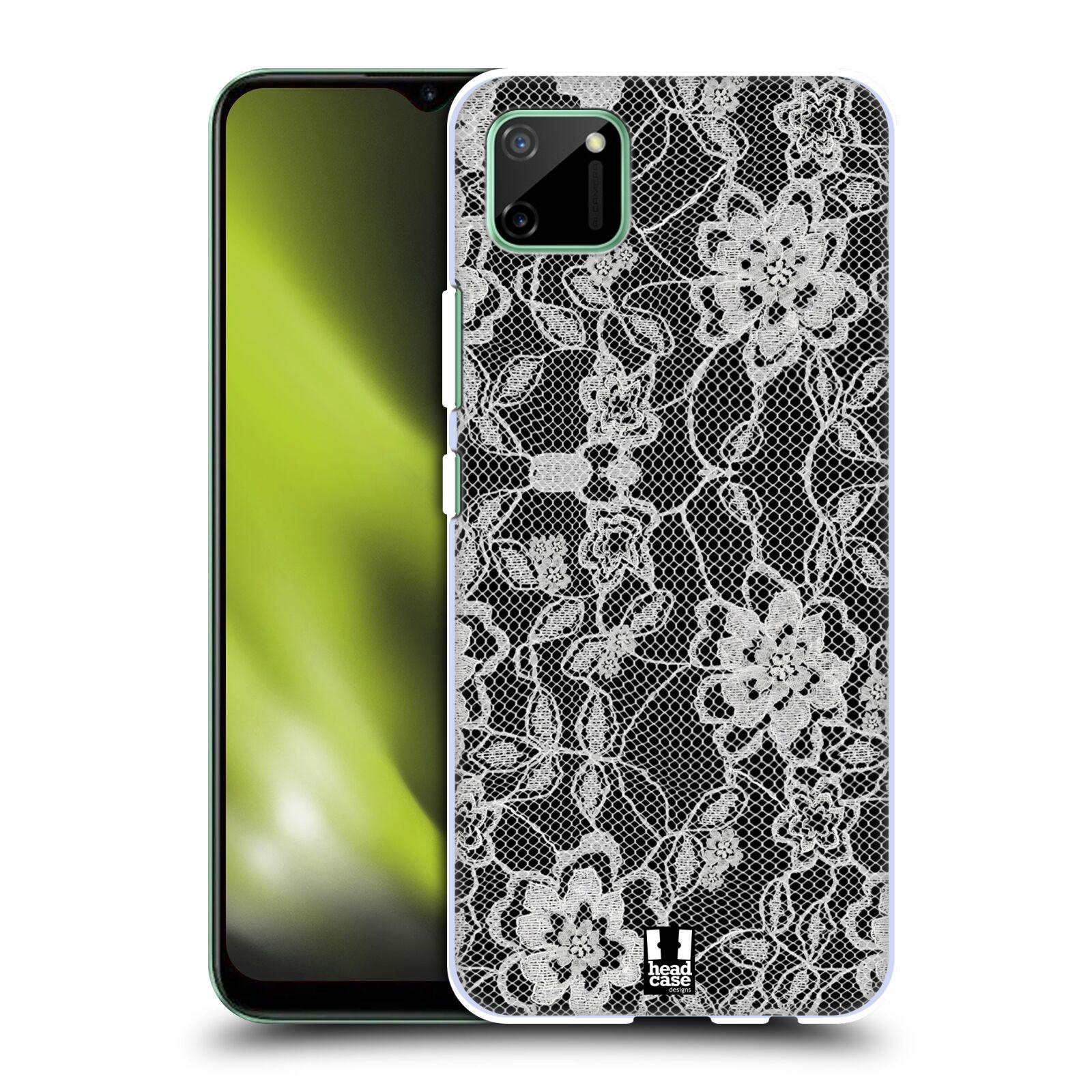 Plastové pouzdro na mobil Realme C11 - Head Case - FLOWERY KRAJKA
