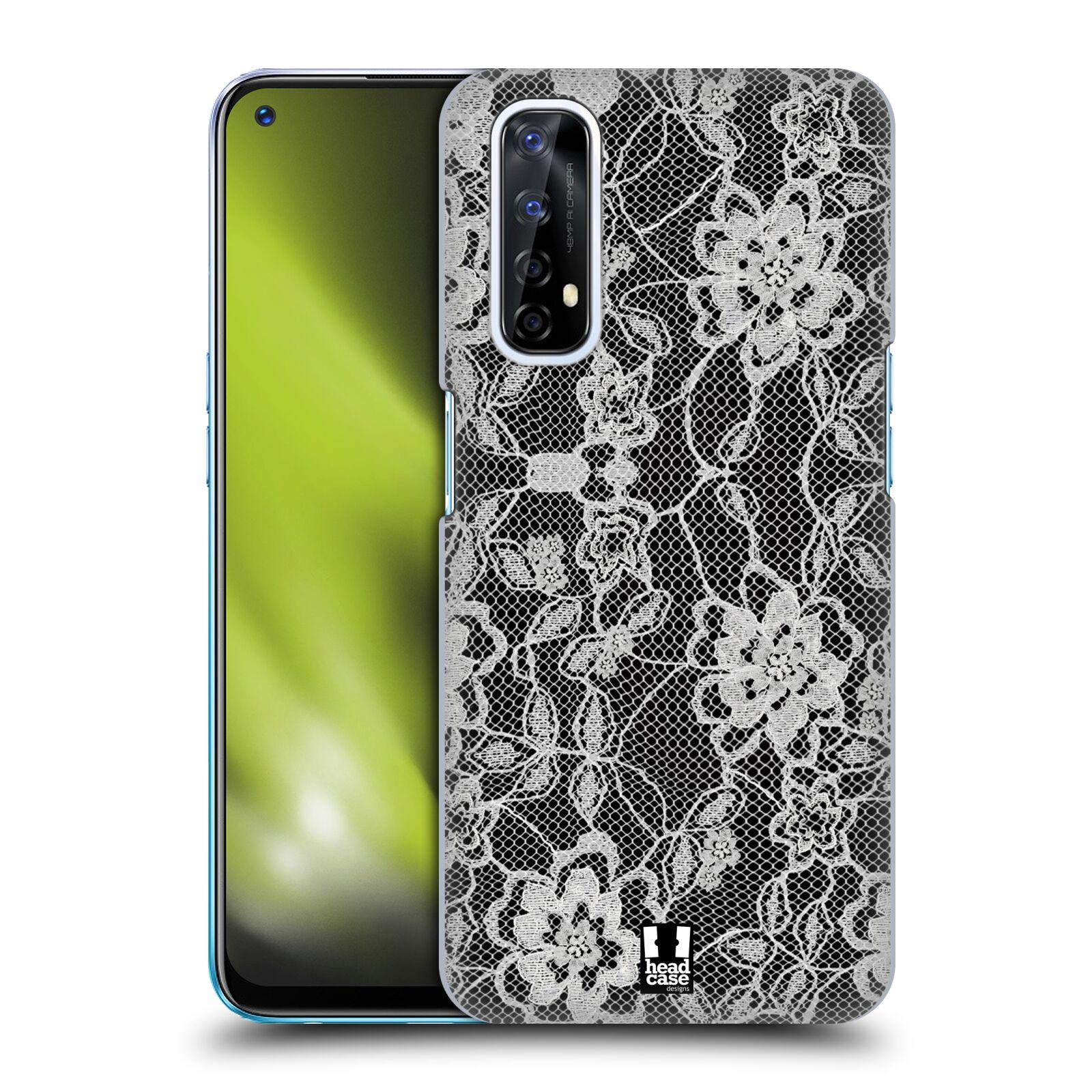 Plastové pouzdro na mobil Realme 7 - Head Case - FLOWERY KRAJKA