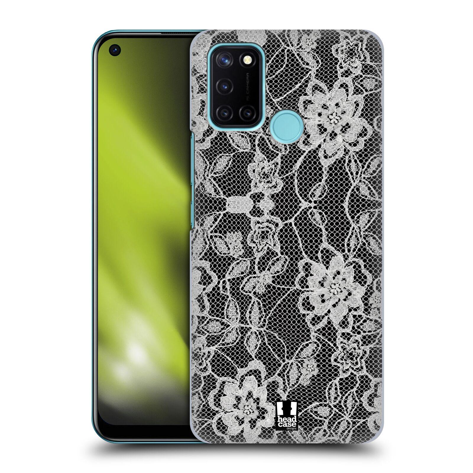 Plastové pouzdro na mobil Realme 7i - Head Case - FLOWERY KRAJKA