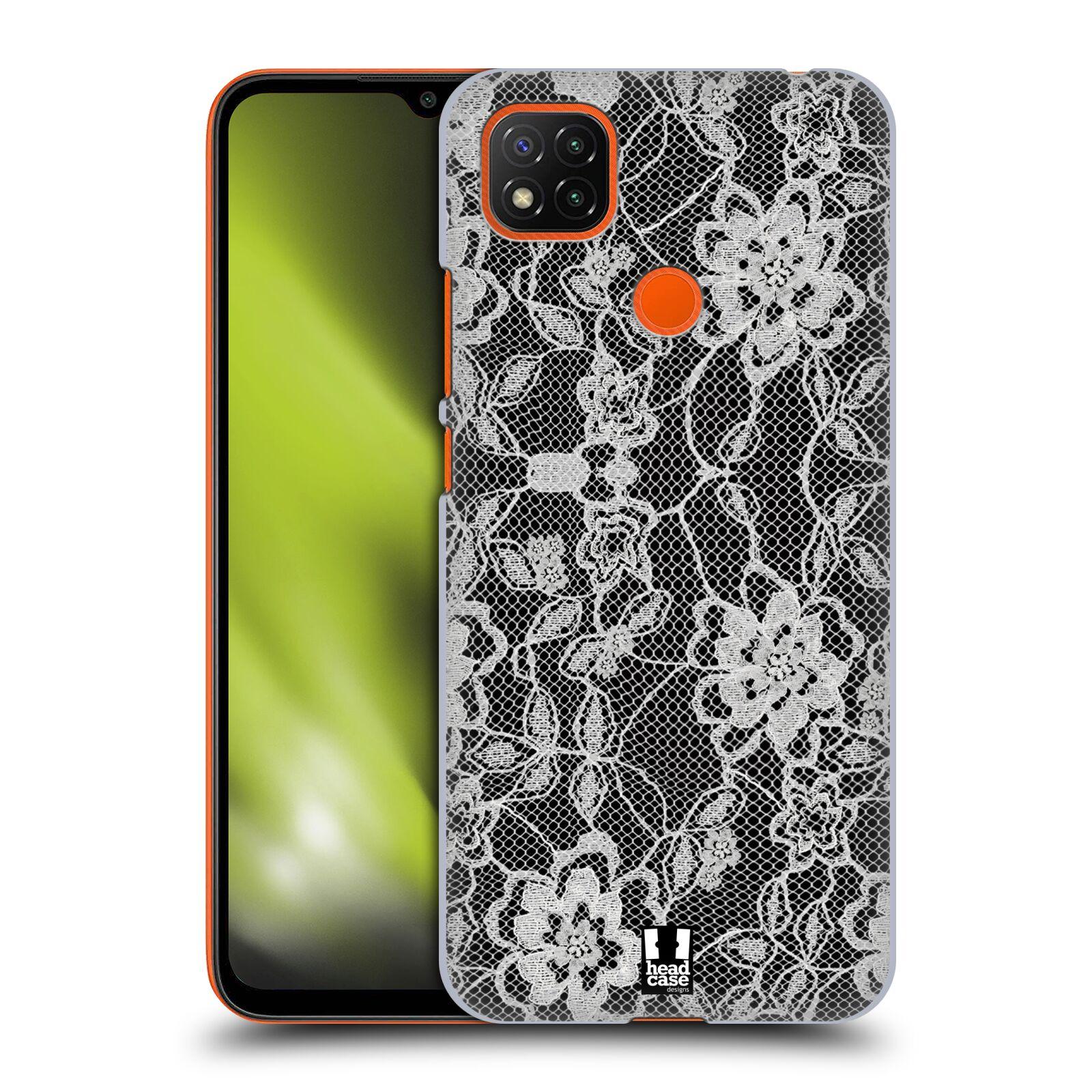 Plastové pouzdro na mobil Xiaomi Redmi 9C - Head Case - FLOWERY KRAJKA