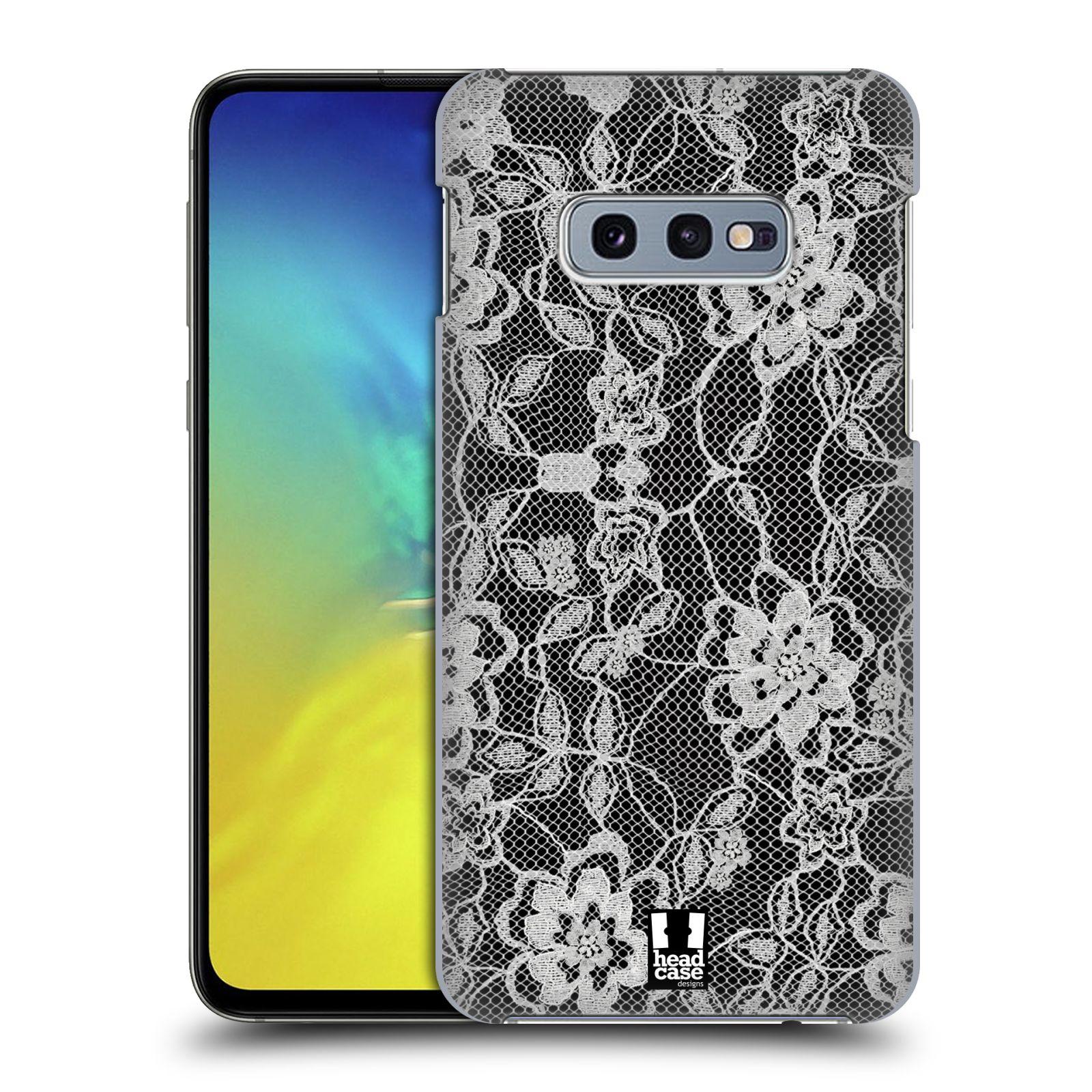Plastové pouzdro na mobil Samsung Galaxy S10e - Head Case - FLOWERY KRAJKA