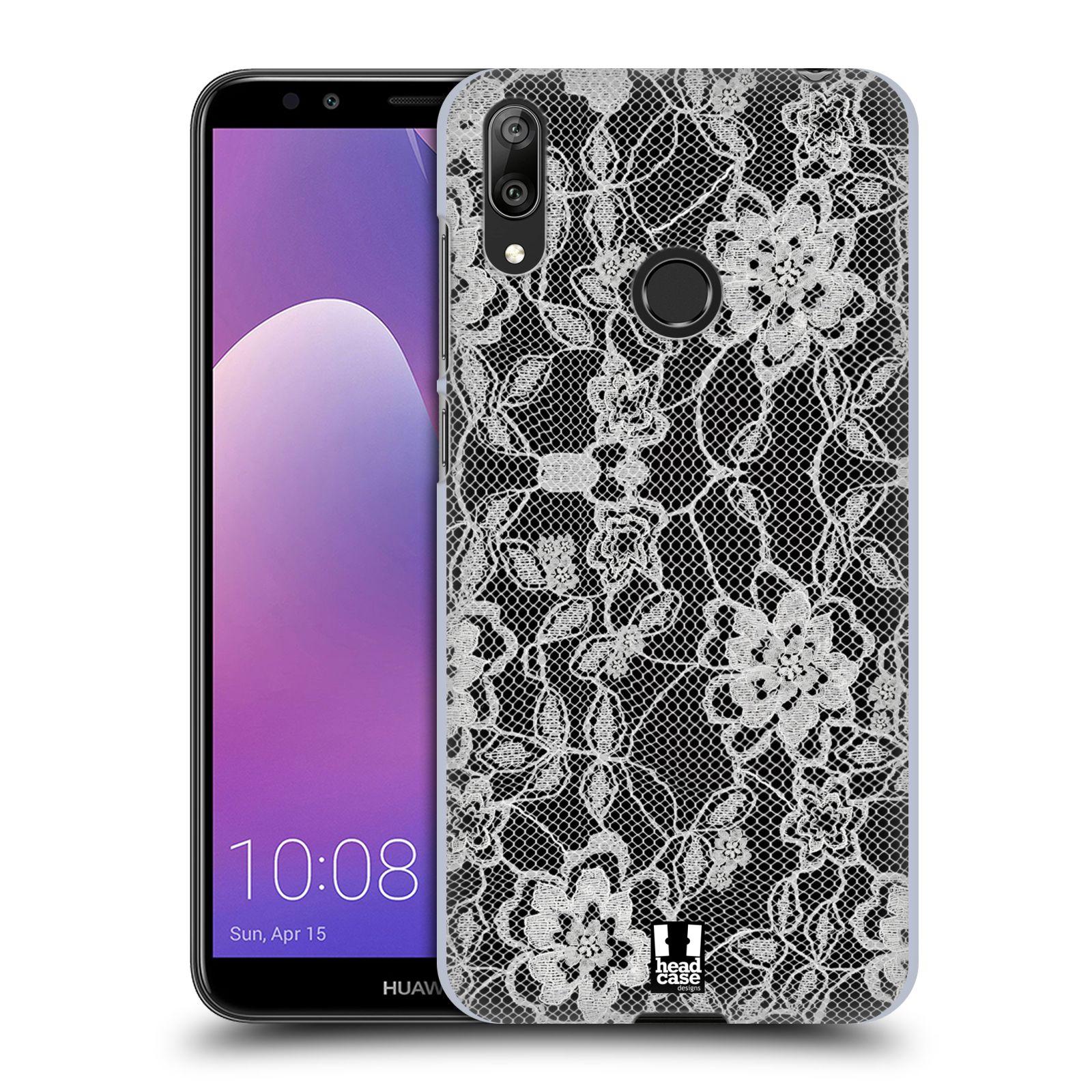 Plastové pouzdro na mobil Huawei Y7 (2019) - Head Case - FLOWERY KRAJKA