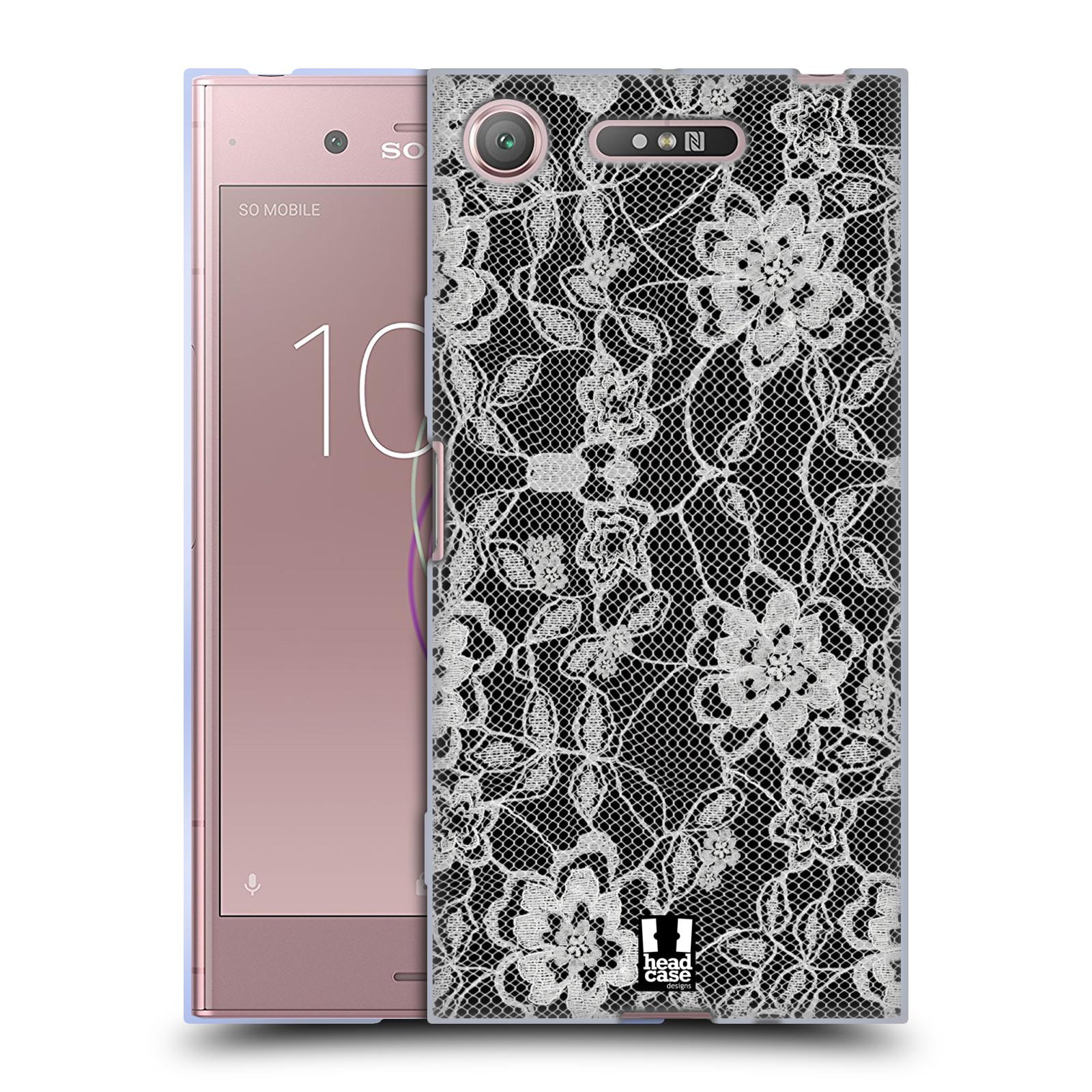 Silikonové pouzdro na mobil Sony Xperia XZ1 - Head Case - FLOWERY KRAJKA