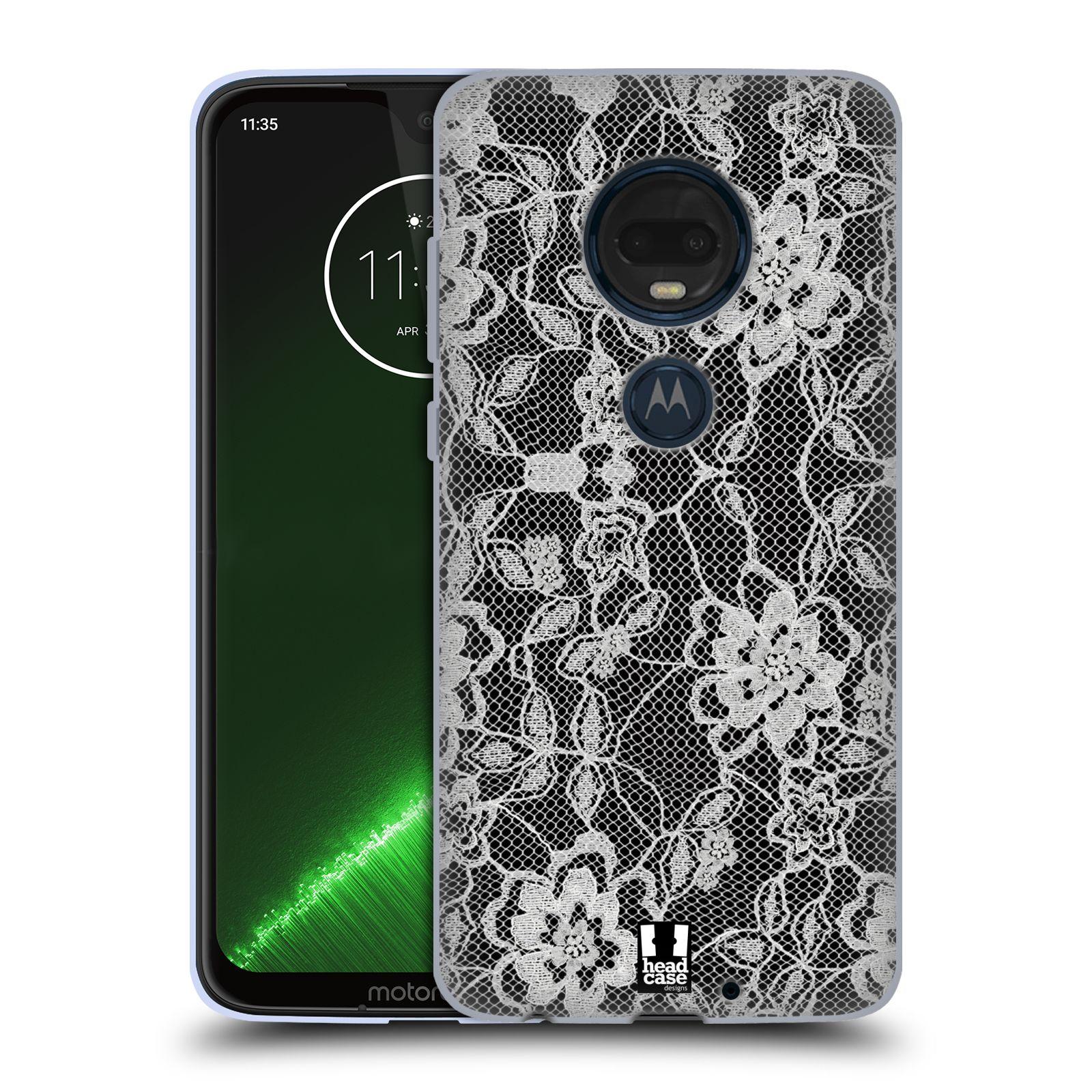Silikonové pouzdro na mobil Motorola Moto G7 Plus - Head Case - FLOWERY KRAJKA