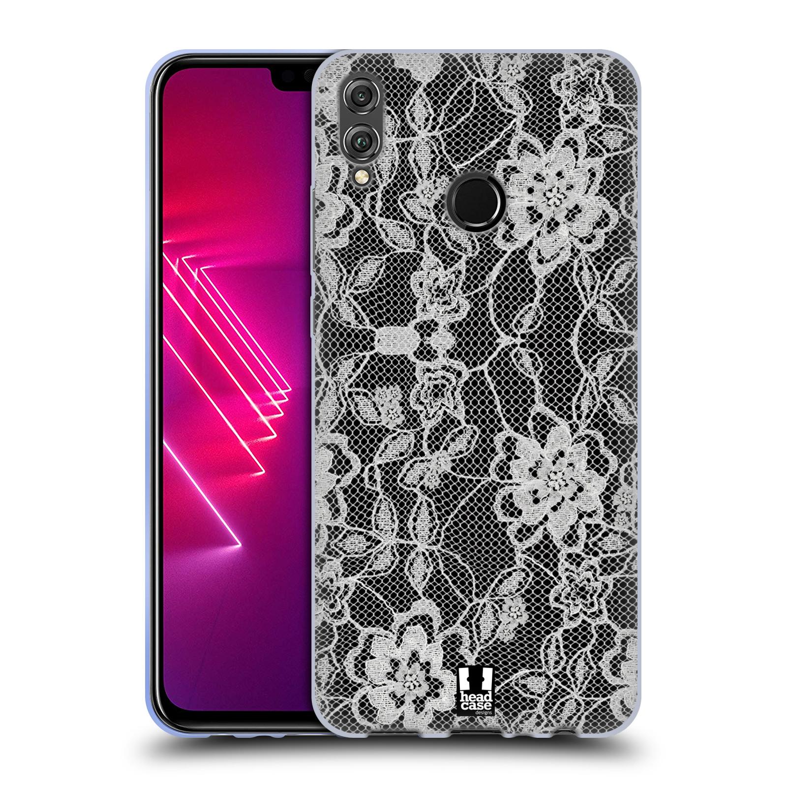 Silikonové pouzdro na mobil Honor View 10 Lite - Head Case - FLOWERY KRAJKA