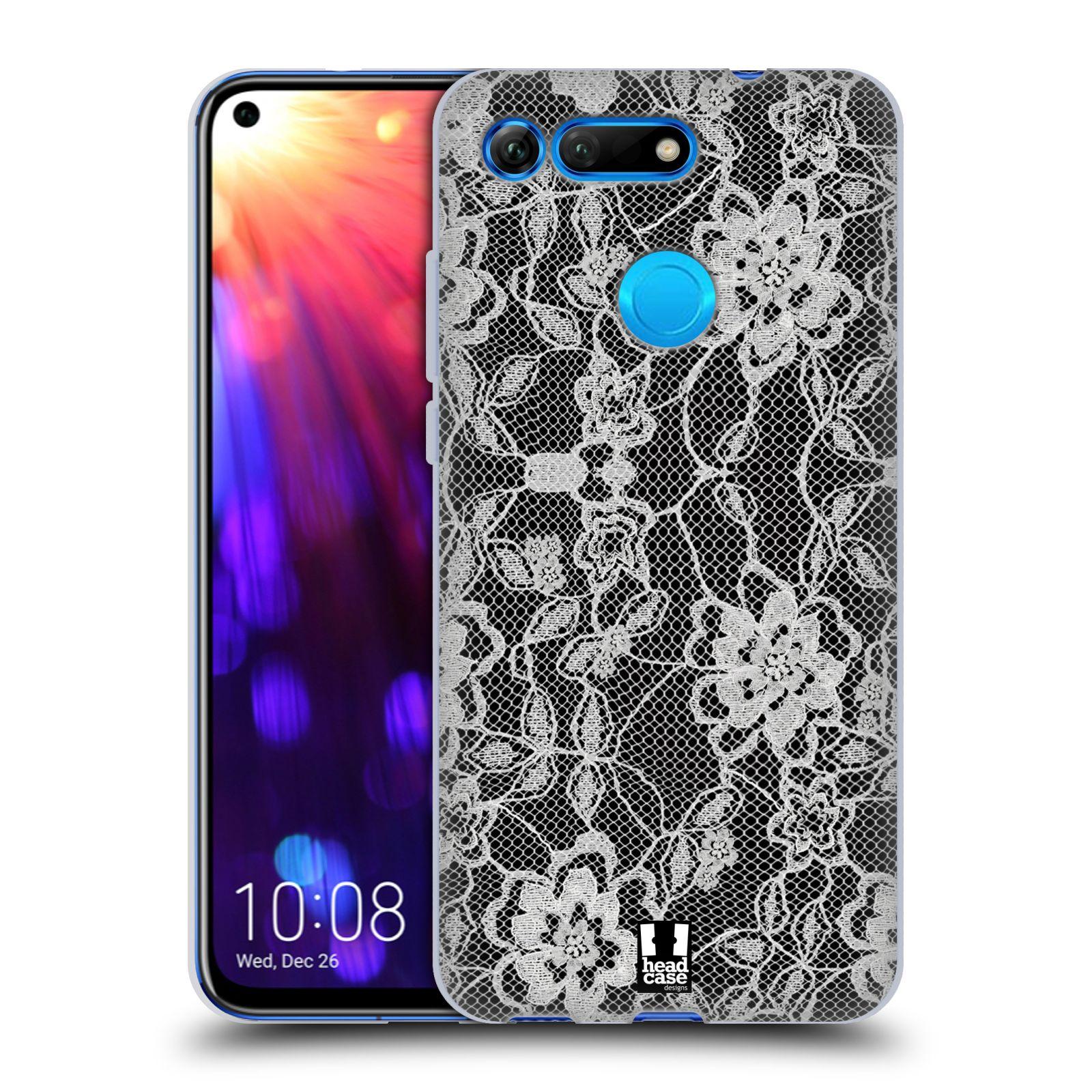 Silikonové pouzdro na mobil Honor View 20 - Head Case - FLOWERY KRAJKA