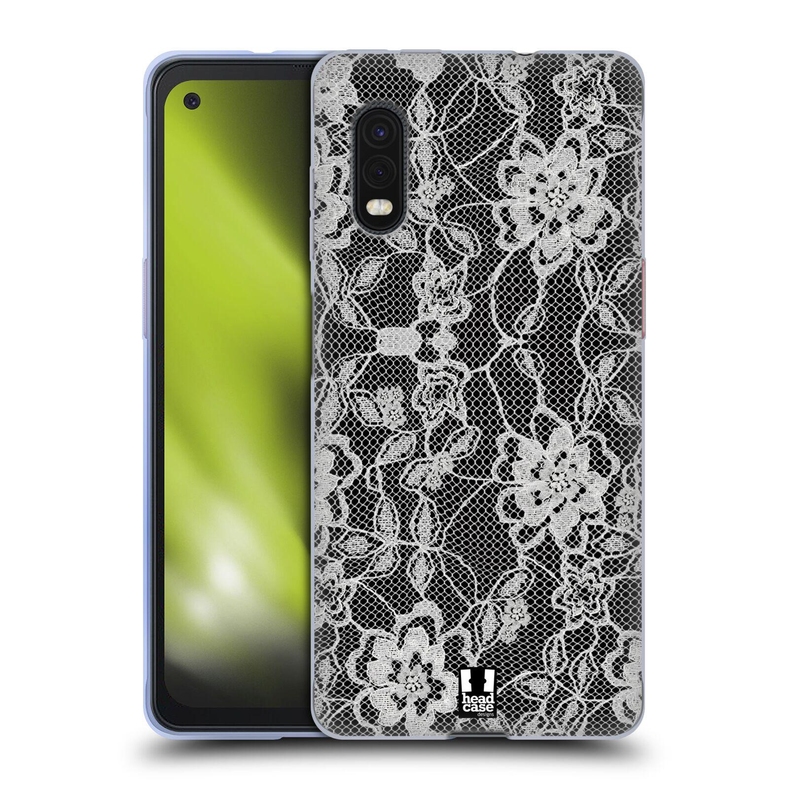 Silikonové pouzdro na mobil Samsung Galaxy Xcover Pro - Head Case - FLOWERY KRAJKA