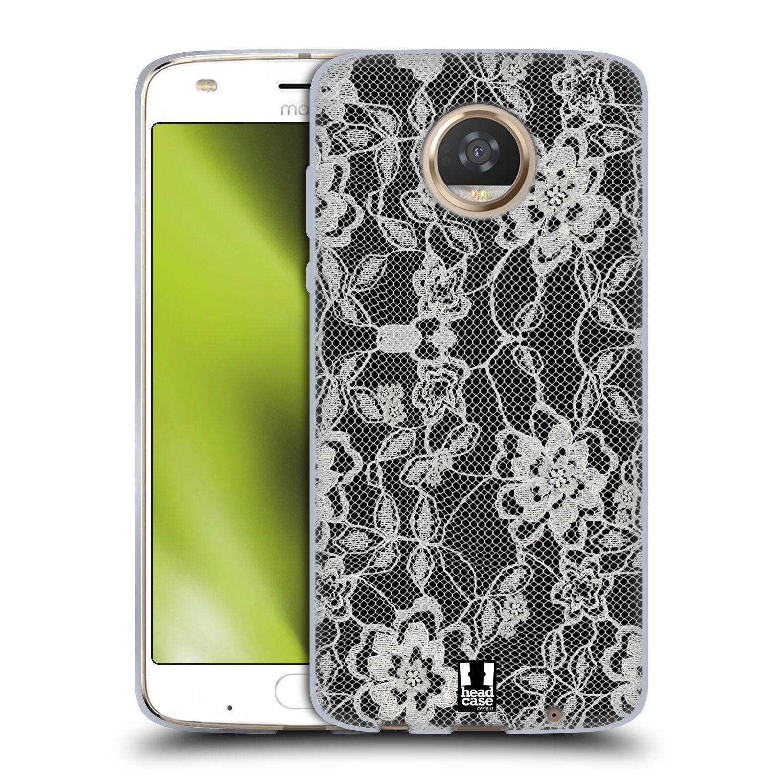 Silikonové pouzdro na mobil Lenovo Moto Z2 Play - Head Case - FLOWERY KRAJKA