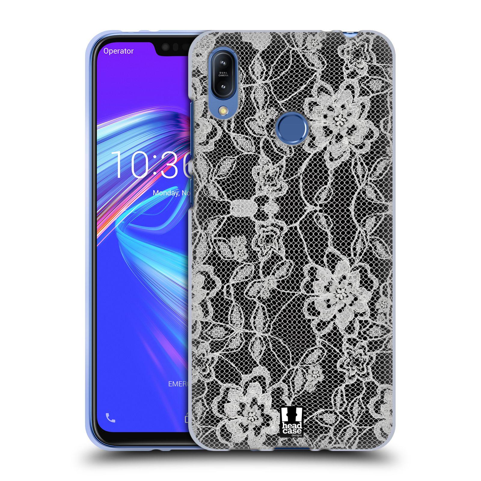 Silikonové pouzdro na mobil Asus Zenfone Max (M2) ZB633KL - Head Case - FLOWERY KRAJKA