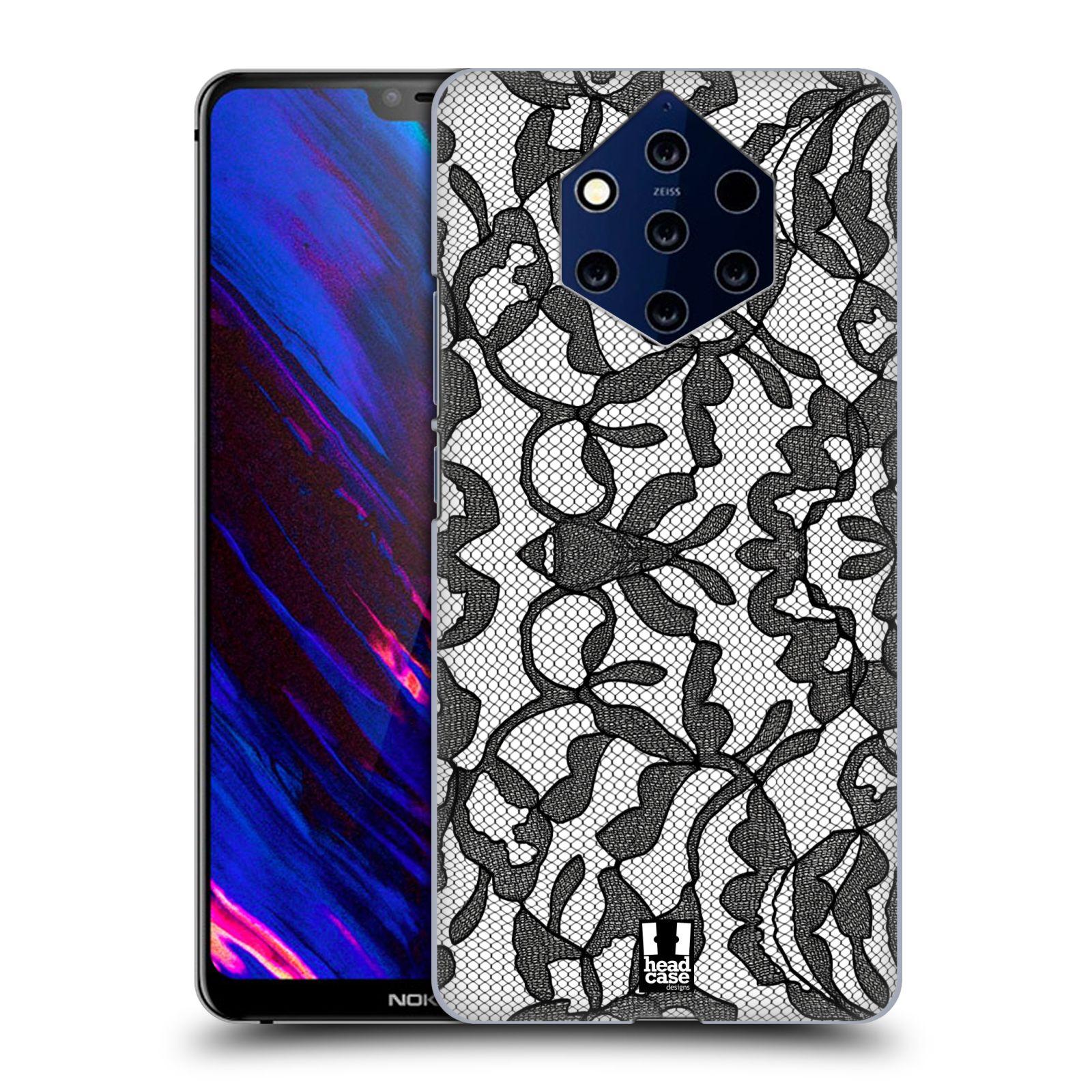 Plastové pouzdro na mobil Nokia 9 PureView - Head Case - LEAFY KRAJKA