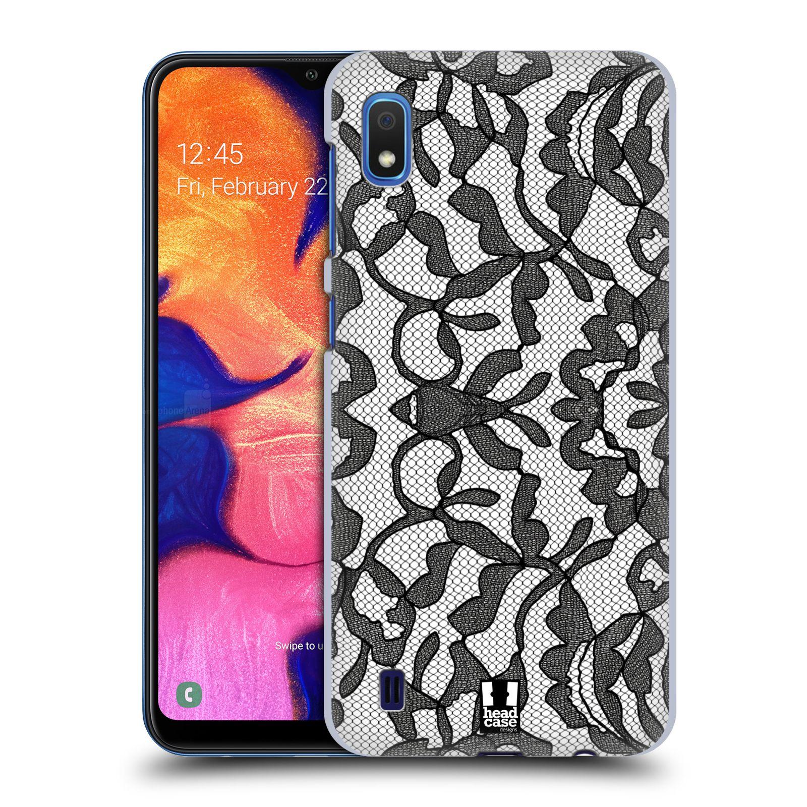 Plastové pouzdro na mobil Samsung Galaxy A10 - Head Case - LEAFY KRAJKA