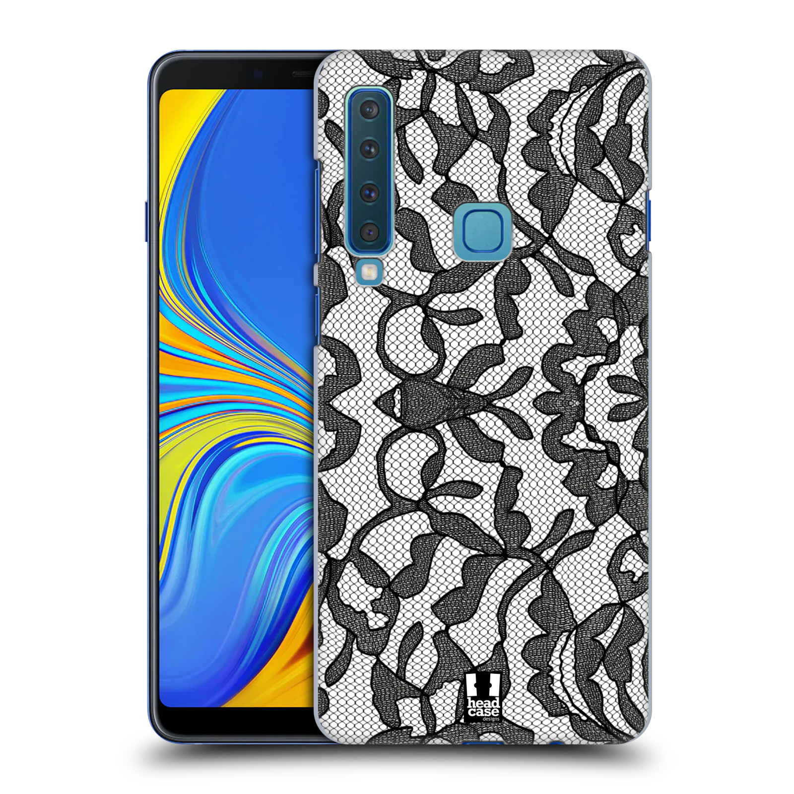 Plastové pouzdro na mobil Samsung Galaxy A9 (2018) - Head Case - LEAFY KRAJKA