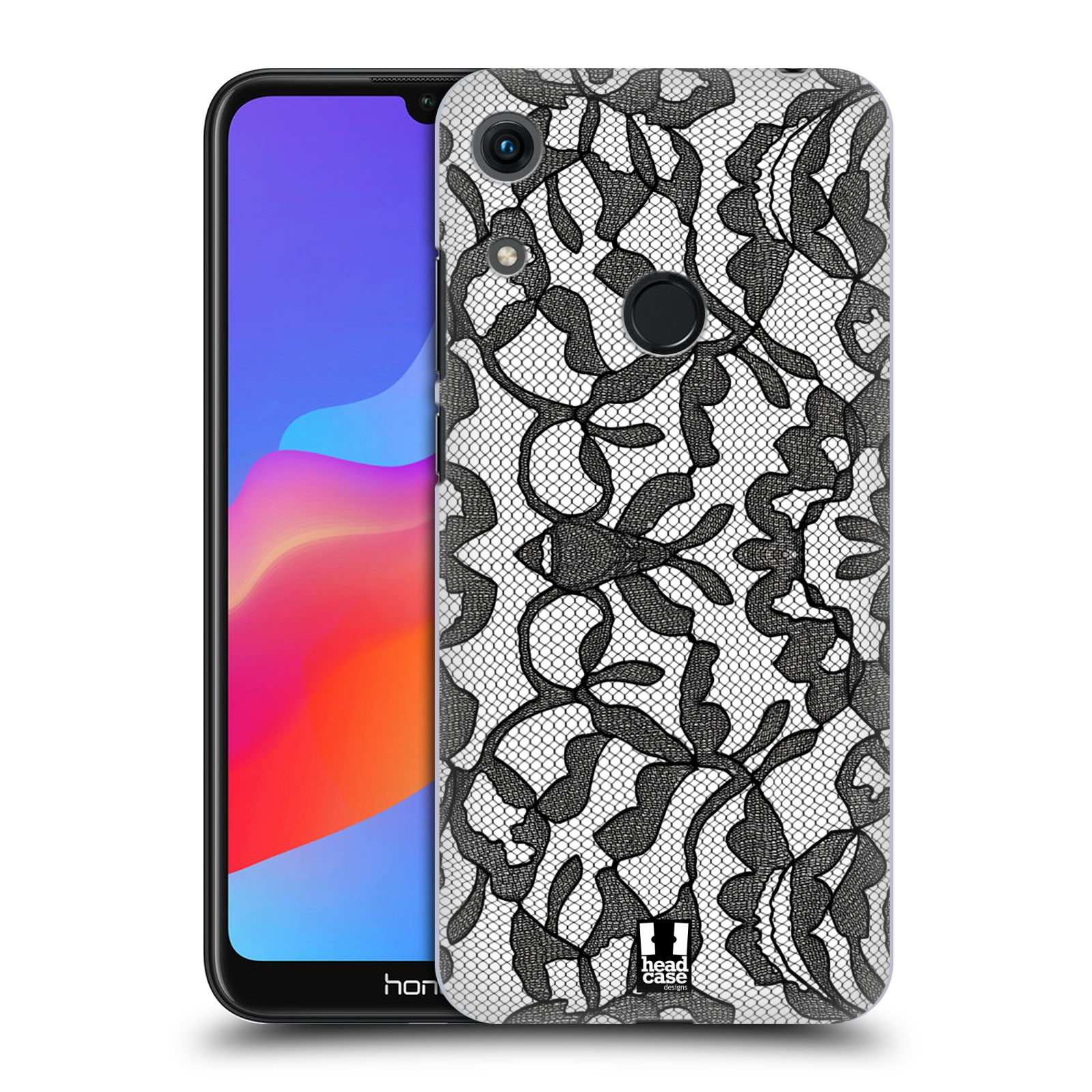 Plastové pouzdro na mobil Honor 8A - Head Case - LEAFY KRAJKA