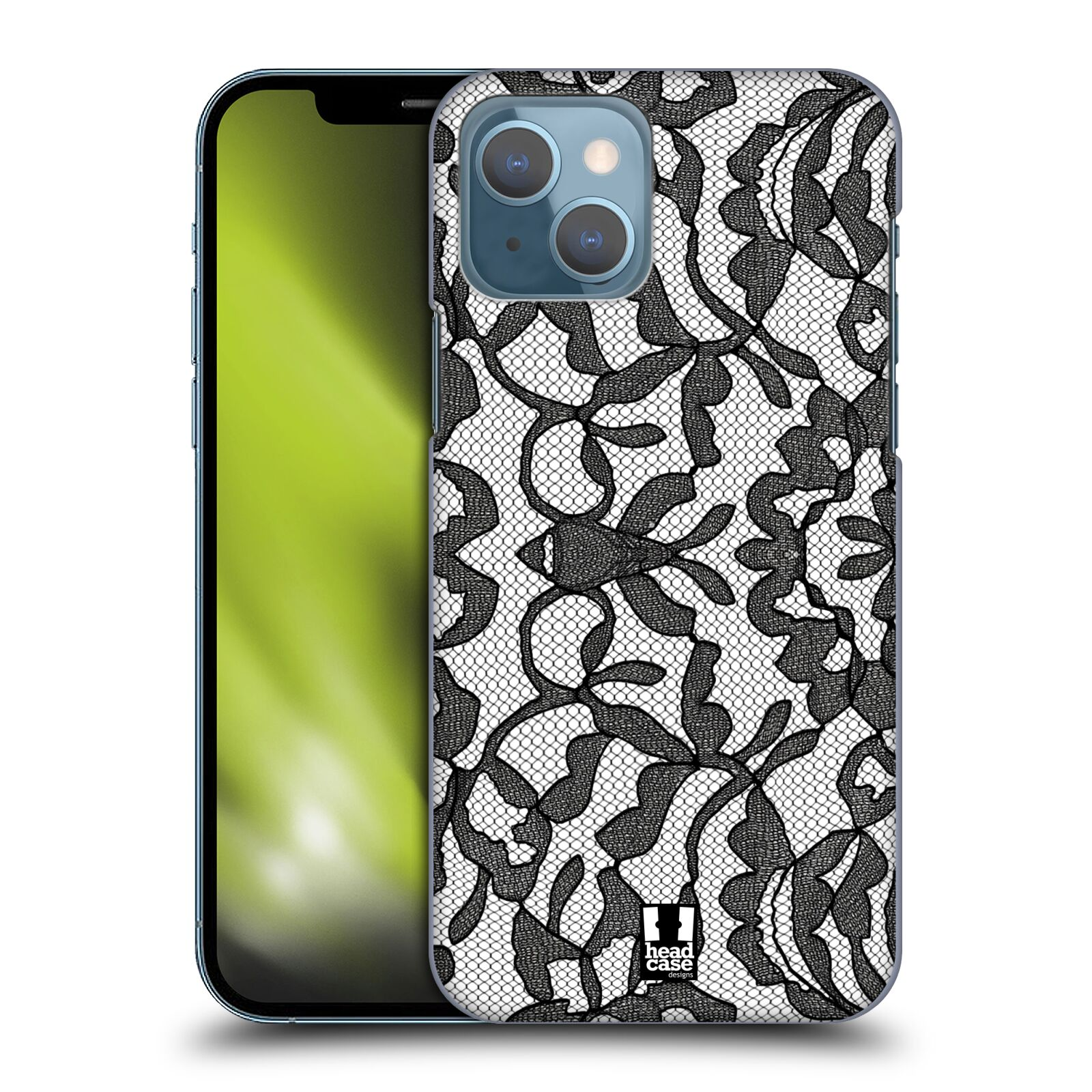 Plastové pouzdro na mobil Apple iPhone 13 - Head Case - LEAFY KRAJKA