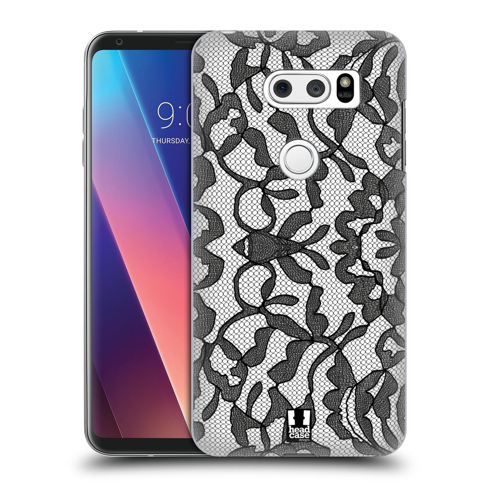 Plastové pouzdro na mobil LG V30 - Head Case - LEAFY KRAJKA
