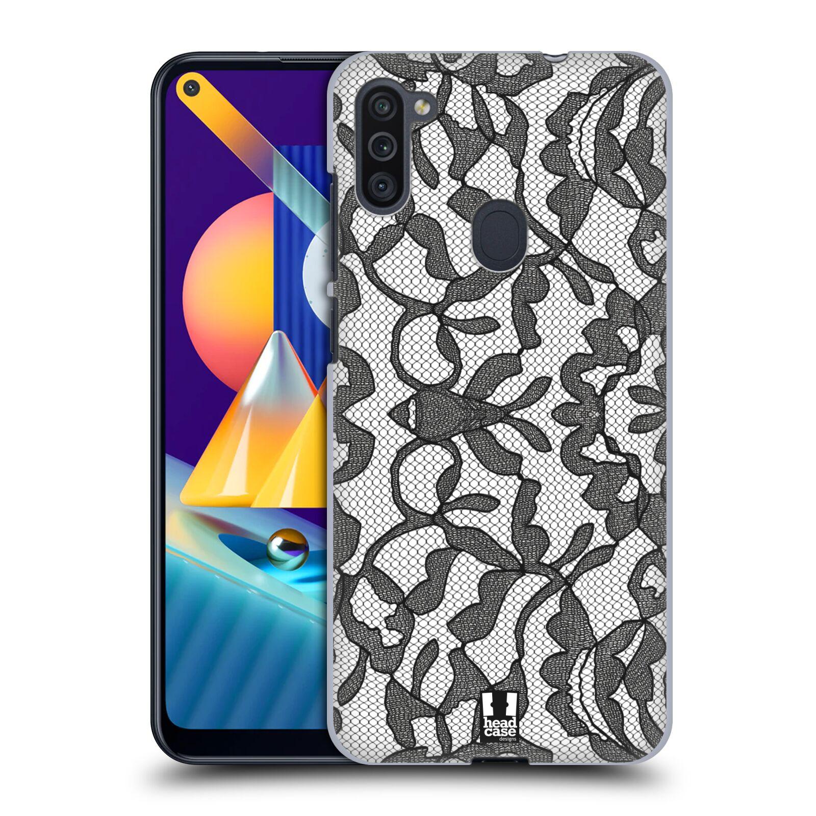 Plastové pouzdro na mobil Samsung Galaxy M11 - Head Case - LEAFY KRAJKA