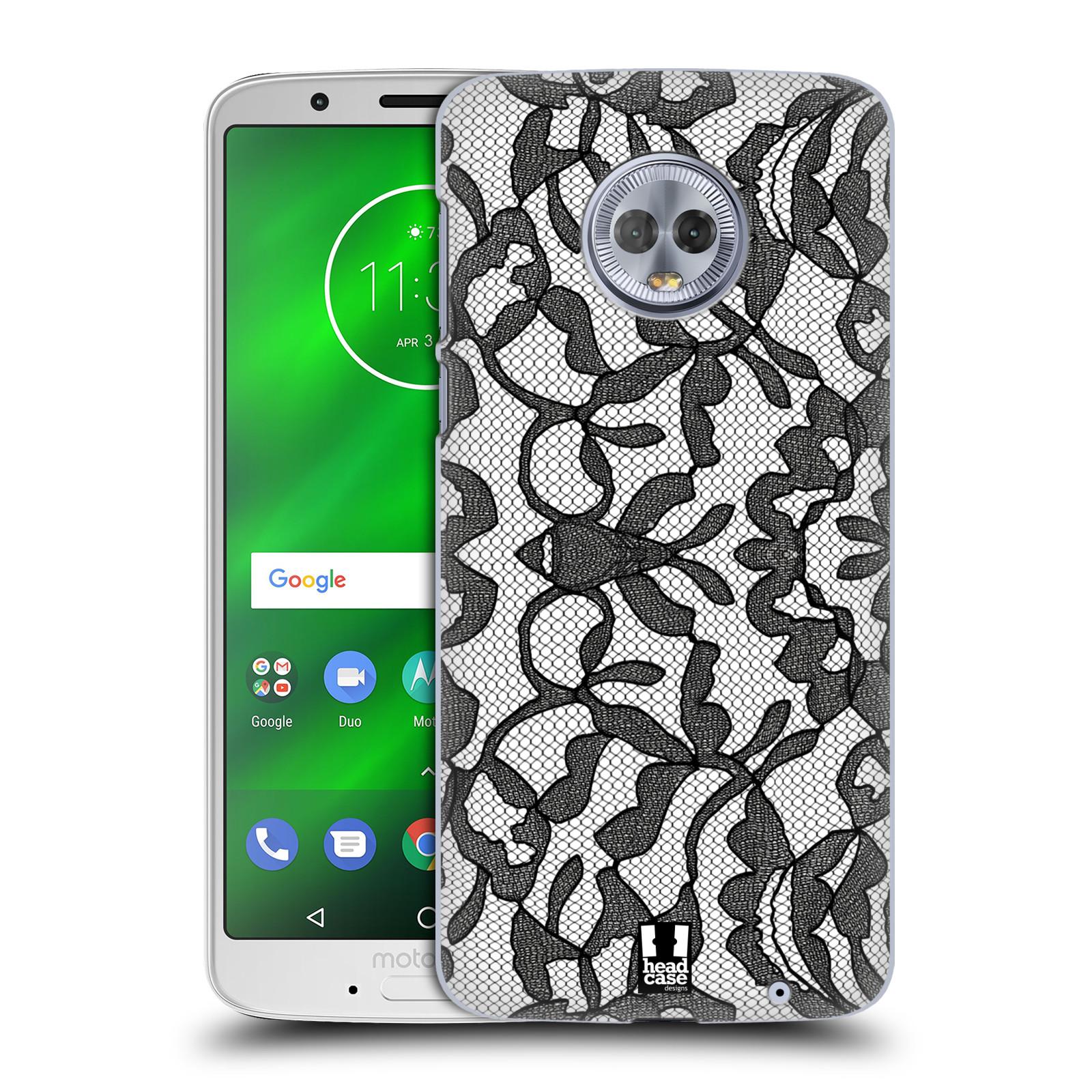 Plastové pouzdro na mobil Motorola Moto G6 Plus - Head Case - LEAFY KRAJKA