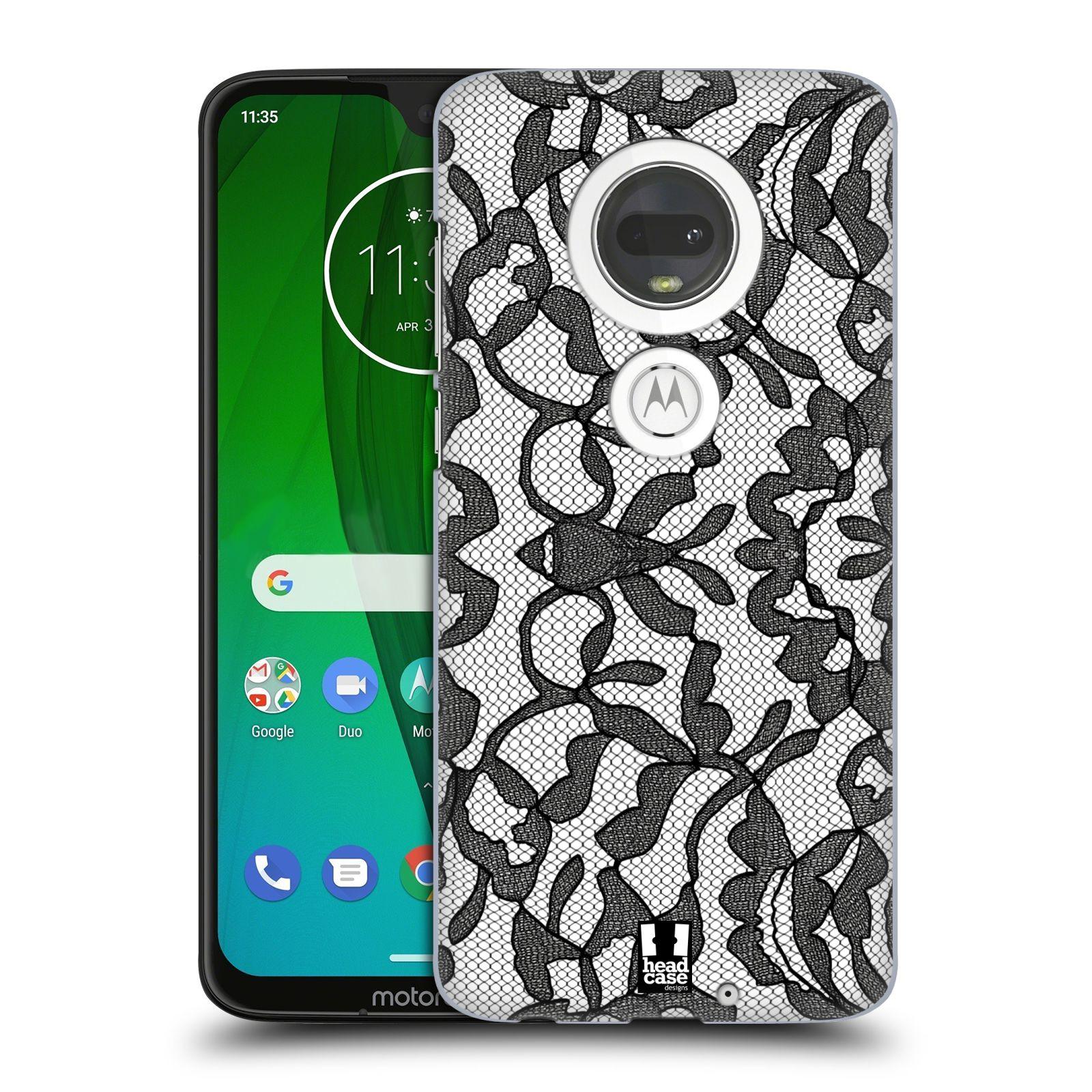 Plastové pouzdro na mobil Motorola Moto G7 - Head Case - LEAFY KRAJKA
