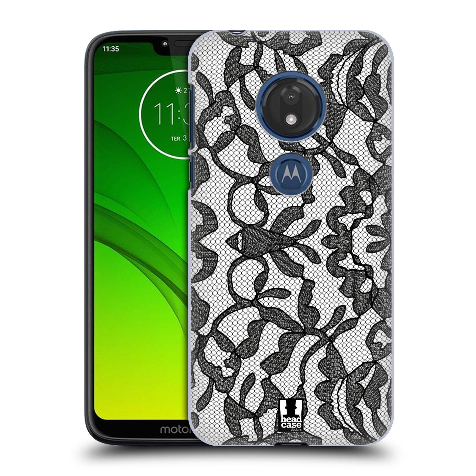 Plastové pouzdro na mobil Motorola Moto G7 Play - Head Case - LEAFY KRAJKA
