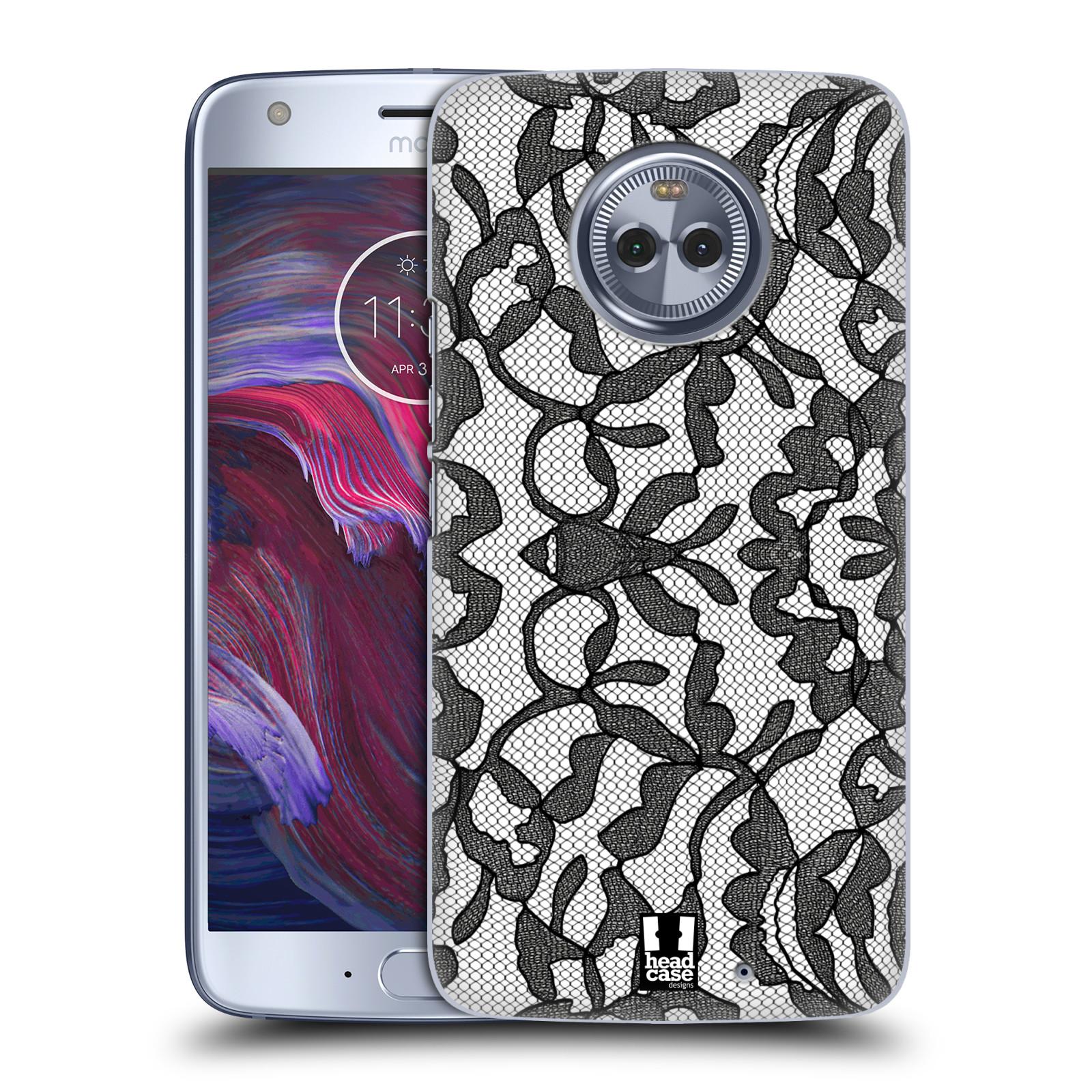 Plastové pouzdro na mobil Lenovo Moto X4 - Head Case - LEAFY KRAJKA