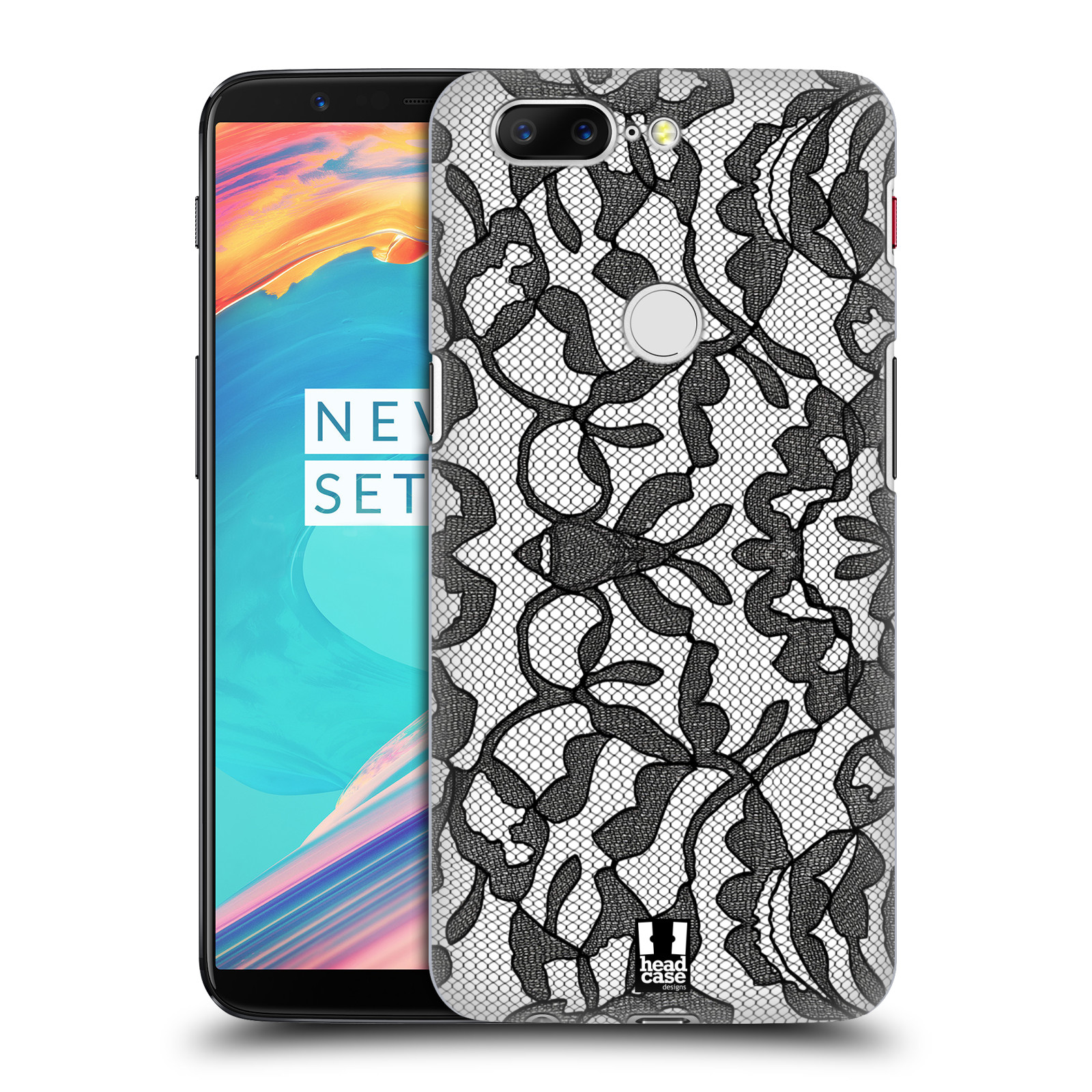 Plastové pouzdro na mobil OnePlus 5T - Head Case - LEAFY KRAJKA