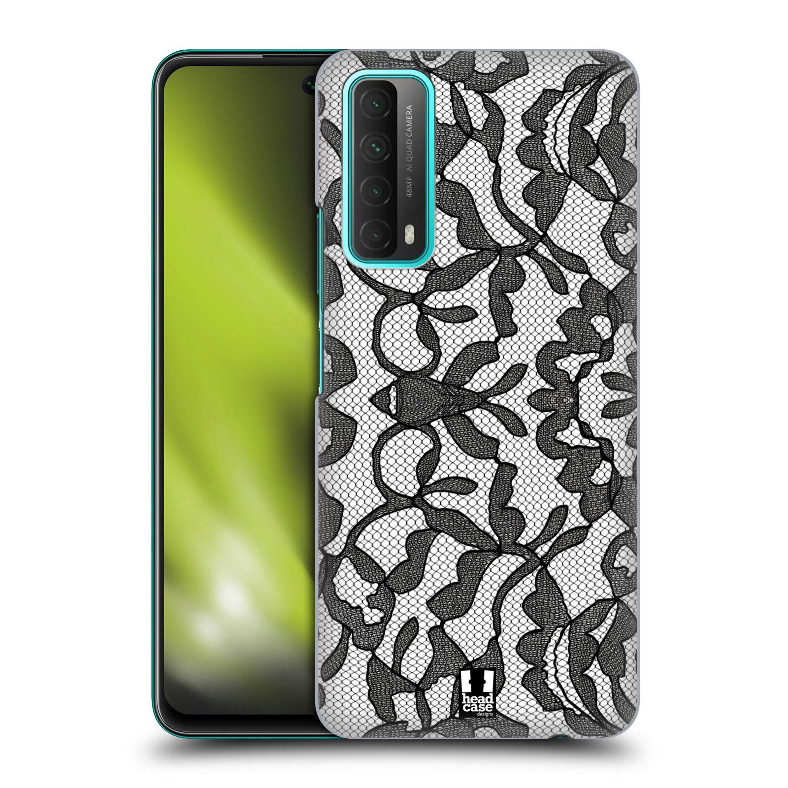 Plastové pouzdro na mobil Huawei P Smart (2021) - Head Case - LEAFY KRAJKA