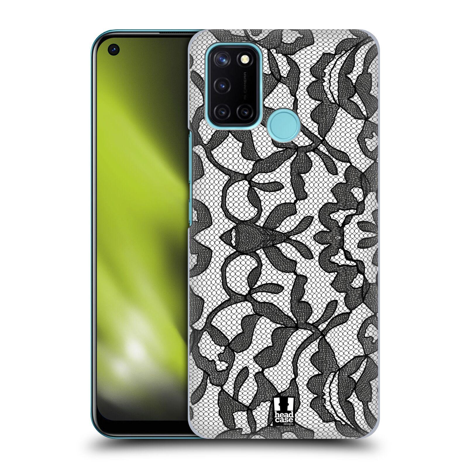 Plastové pouzdro na mobil Realme 7i - Head Case - LEAFY KRAJKA