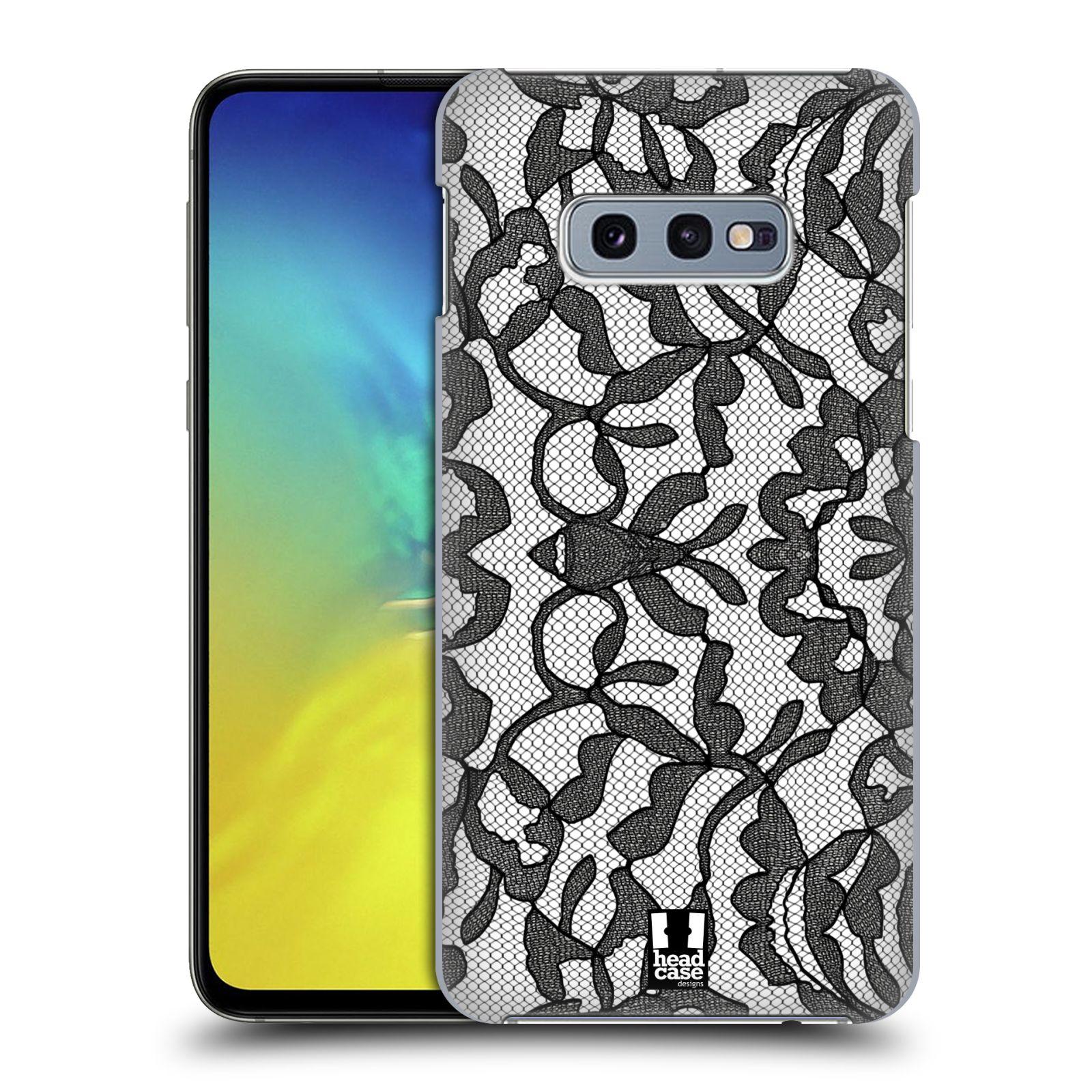 Plastové pouzdro na mobil Samsung Galaxy S10e - Head Case - LEAFY KRAJKA