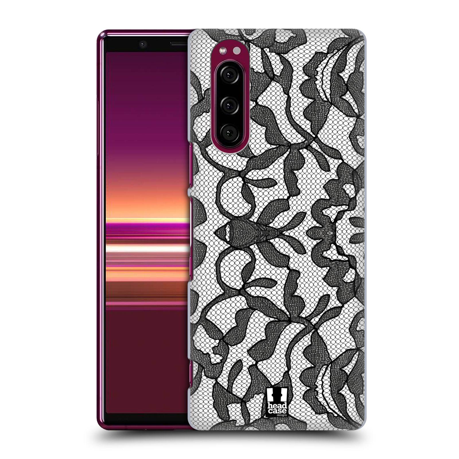 Plastové pouzdro na mobil Sony Xperia 5 - Head Case - LEAFY KRAJKA
